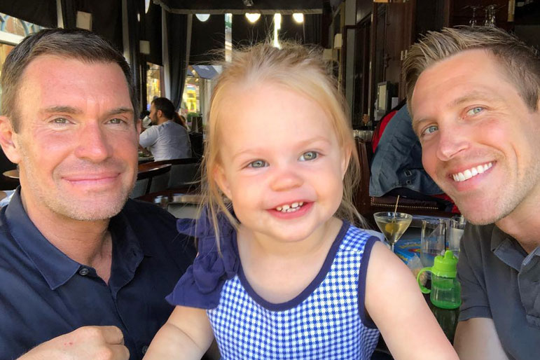 Jeff Lewis Gage Edwards Coparenting