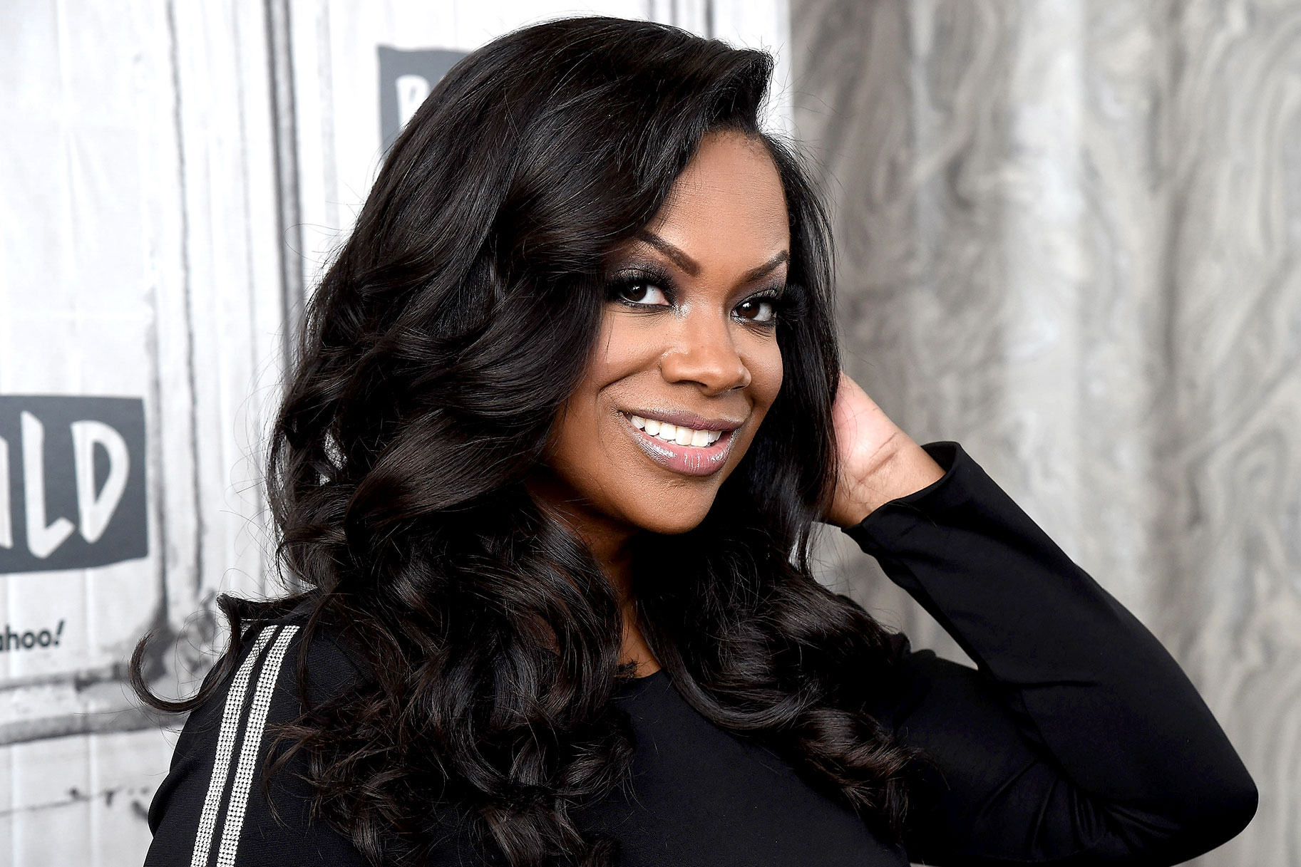 Kandi Burruss Sheer Top Fashion