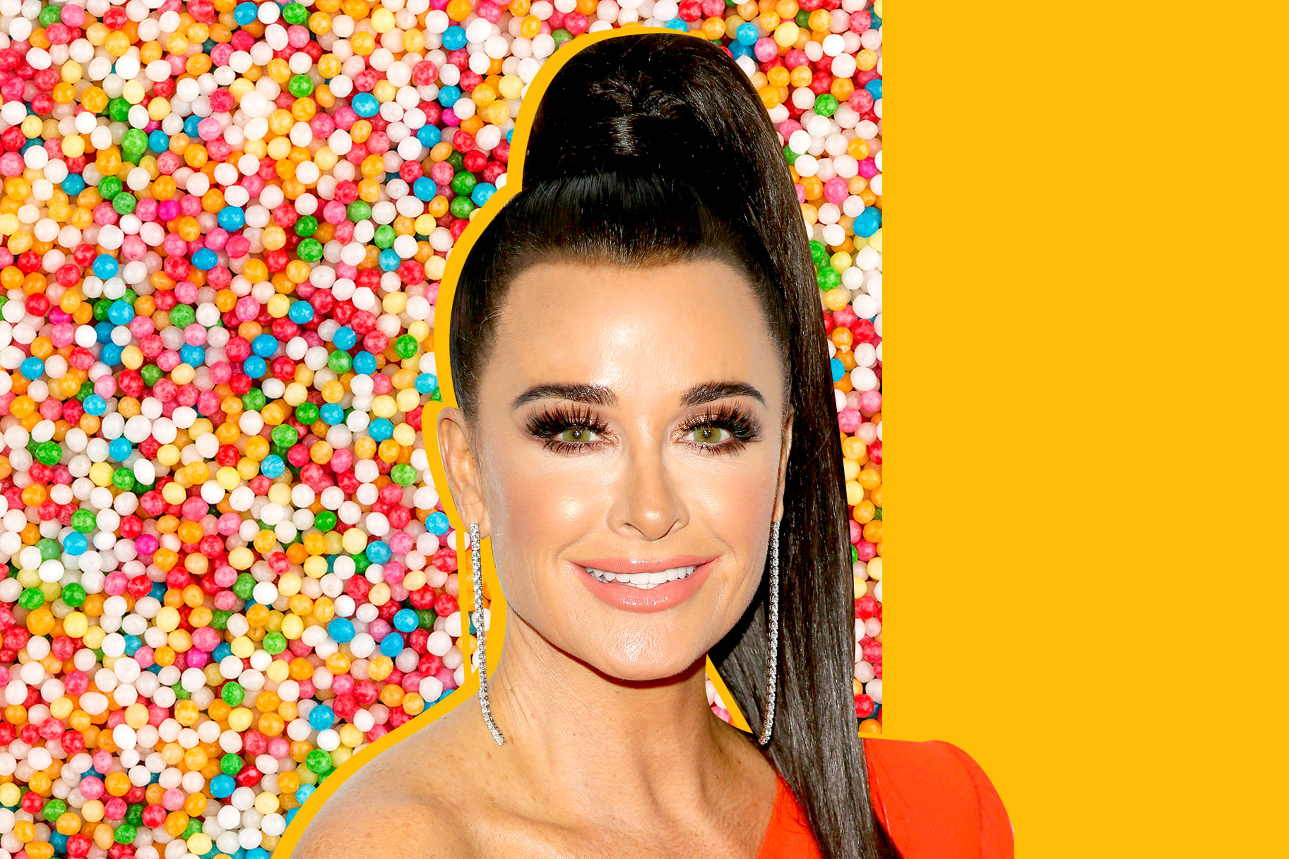 Kyle Richards Birthday Cake Rhobh