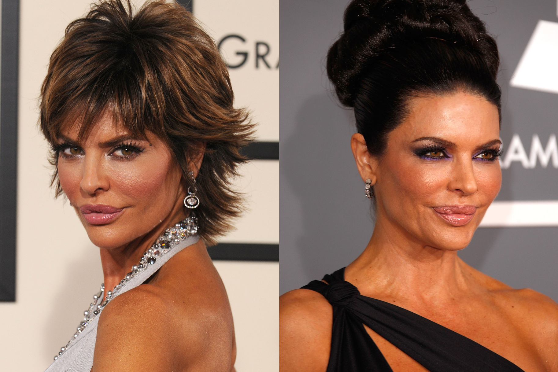 Lisa Rinna Grammy Throwback