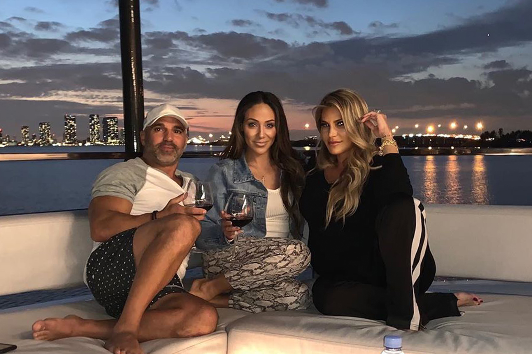 Melissa Gorga Joe Superyacht Vacation