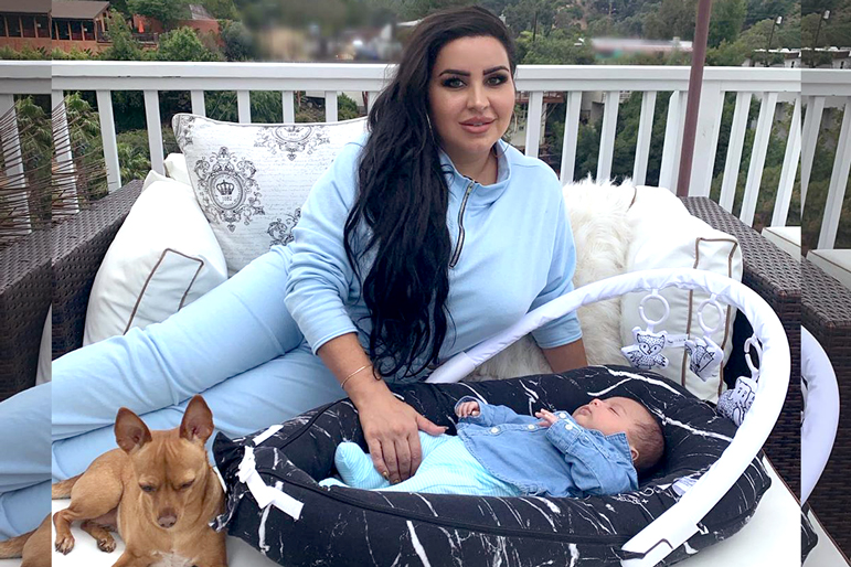 Mercedes Javid Baby Son Shams