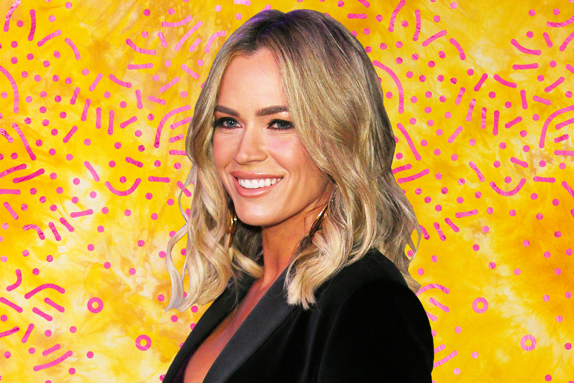 Teddi Mellencamp New Year Dress
