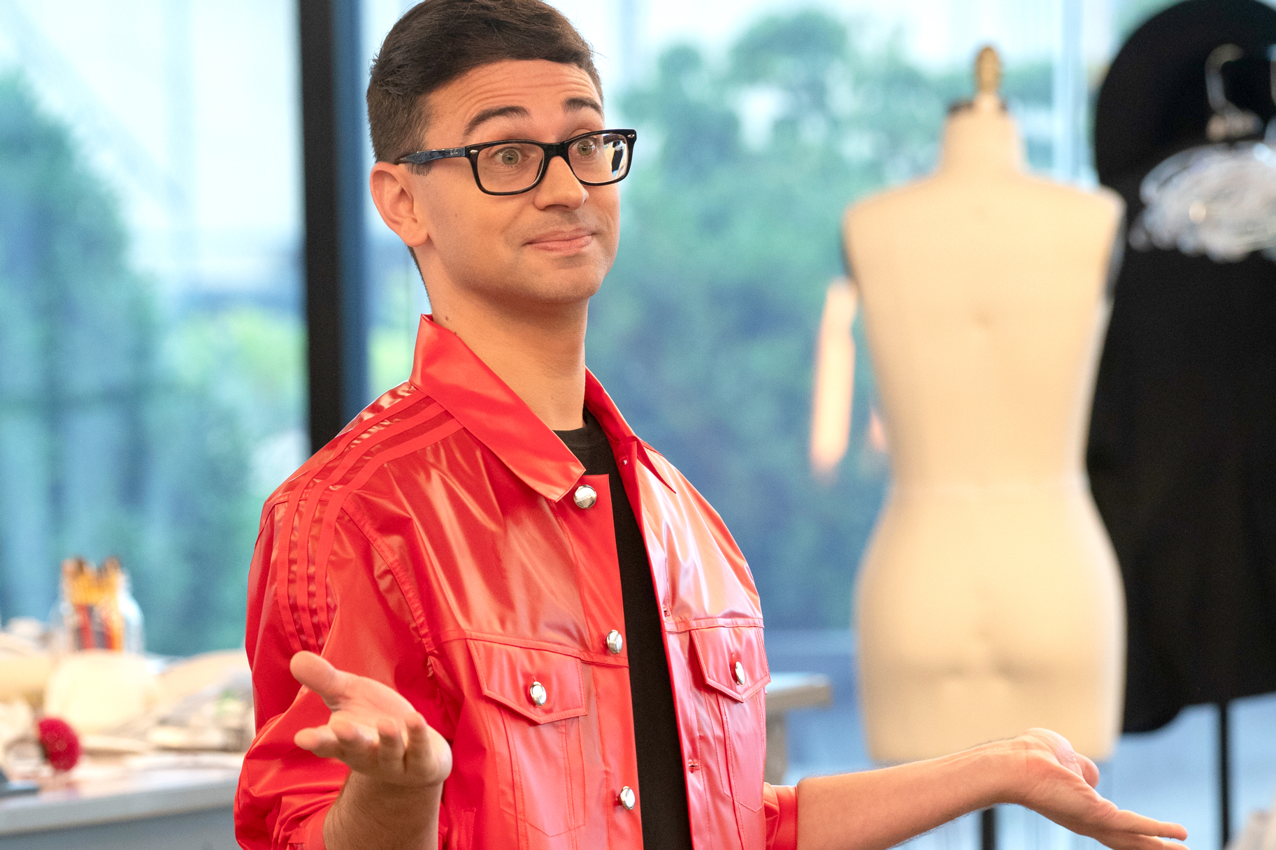 Christian Siriano First Save Project Runway