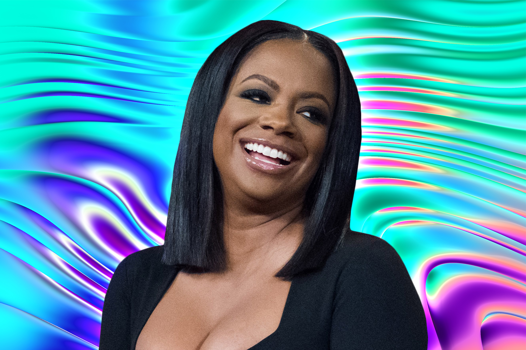 Kandi Burruss Interview Look