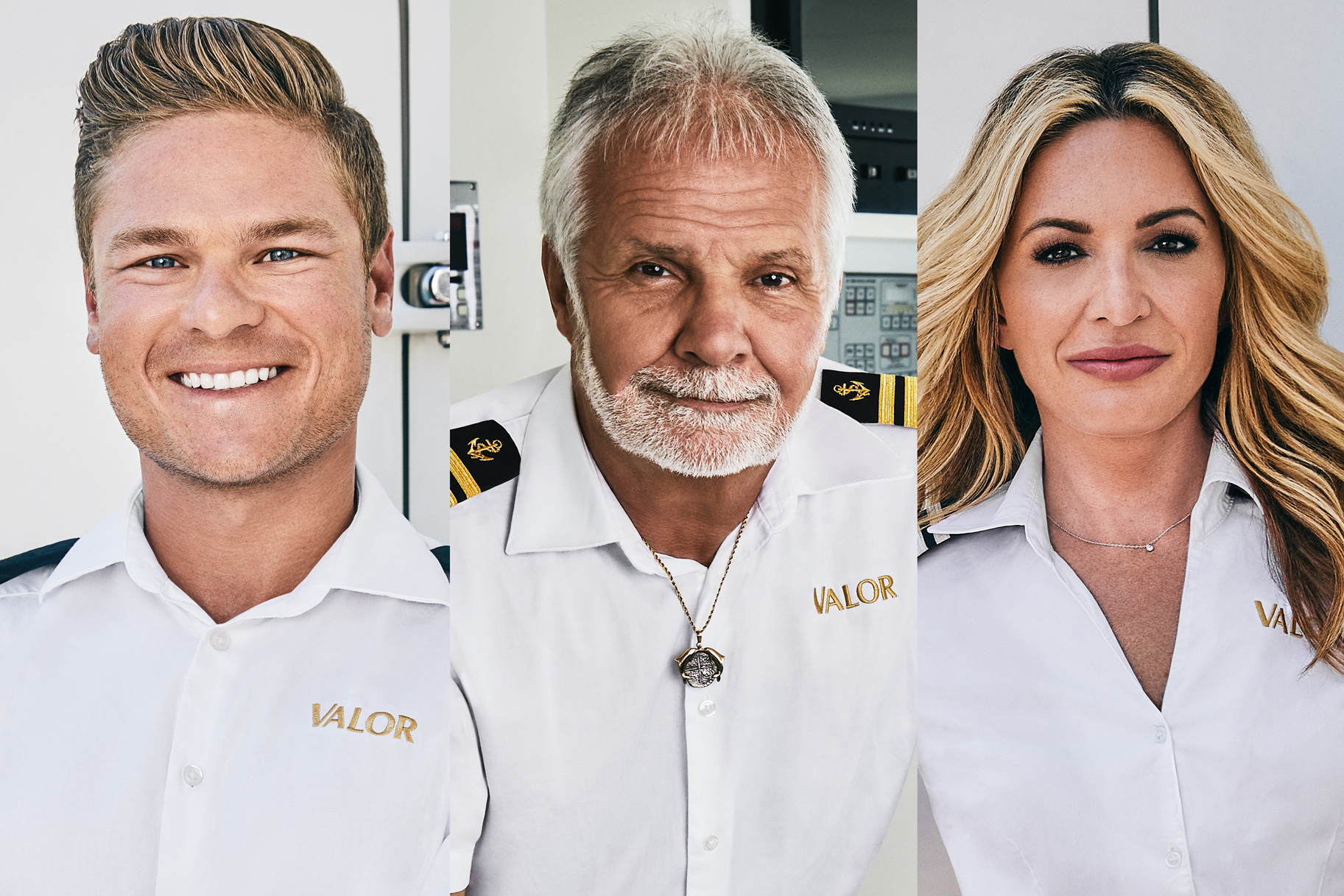 Kate Chastain Ashton Pienaar Captain Lee