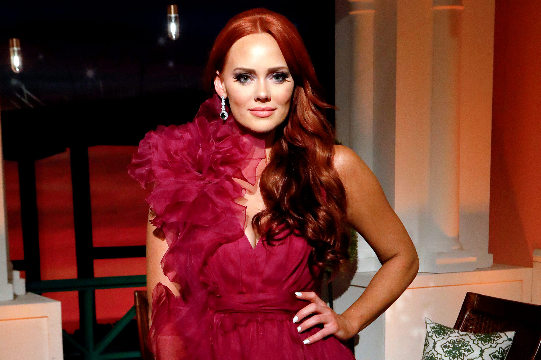 Kathryn Dennis Princess Dress Fashion