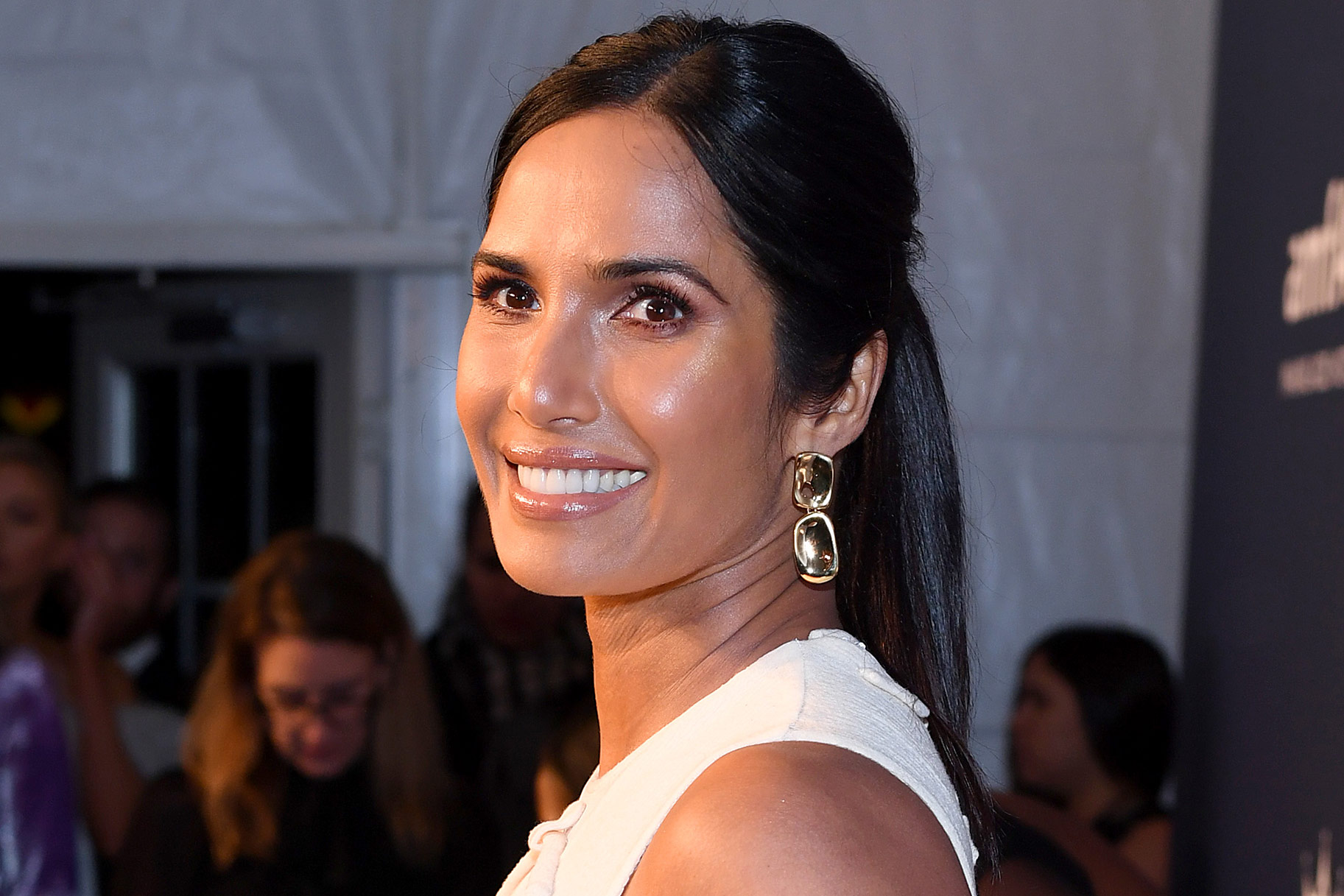 Padma Lakshmi Top Chef Bangs