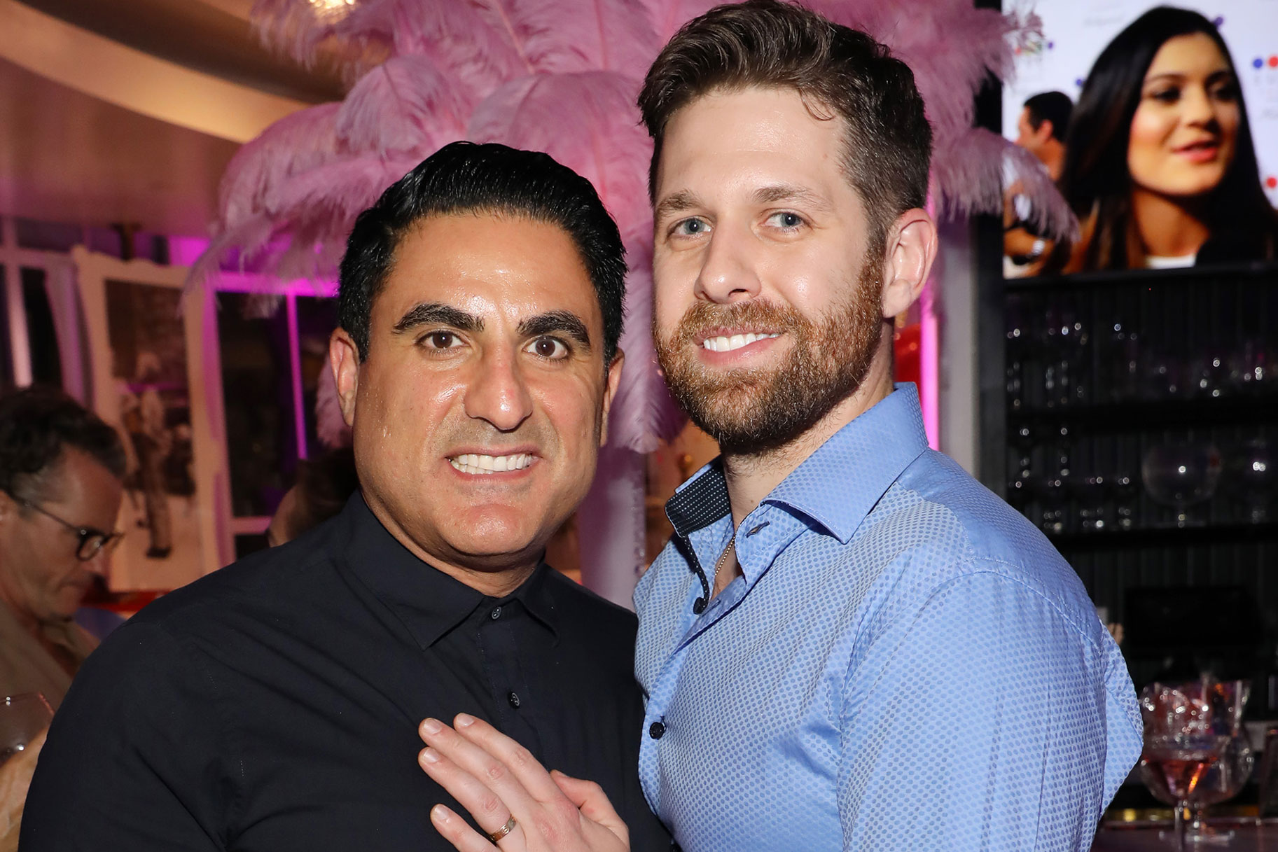 Reza Farahan Adam Neely Marriage