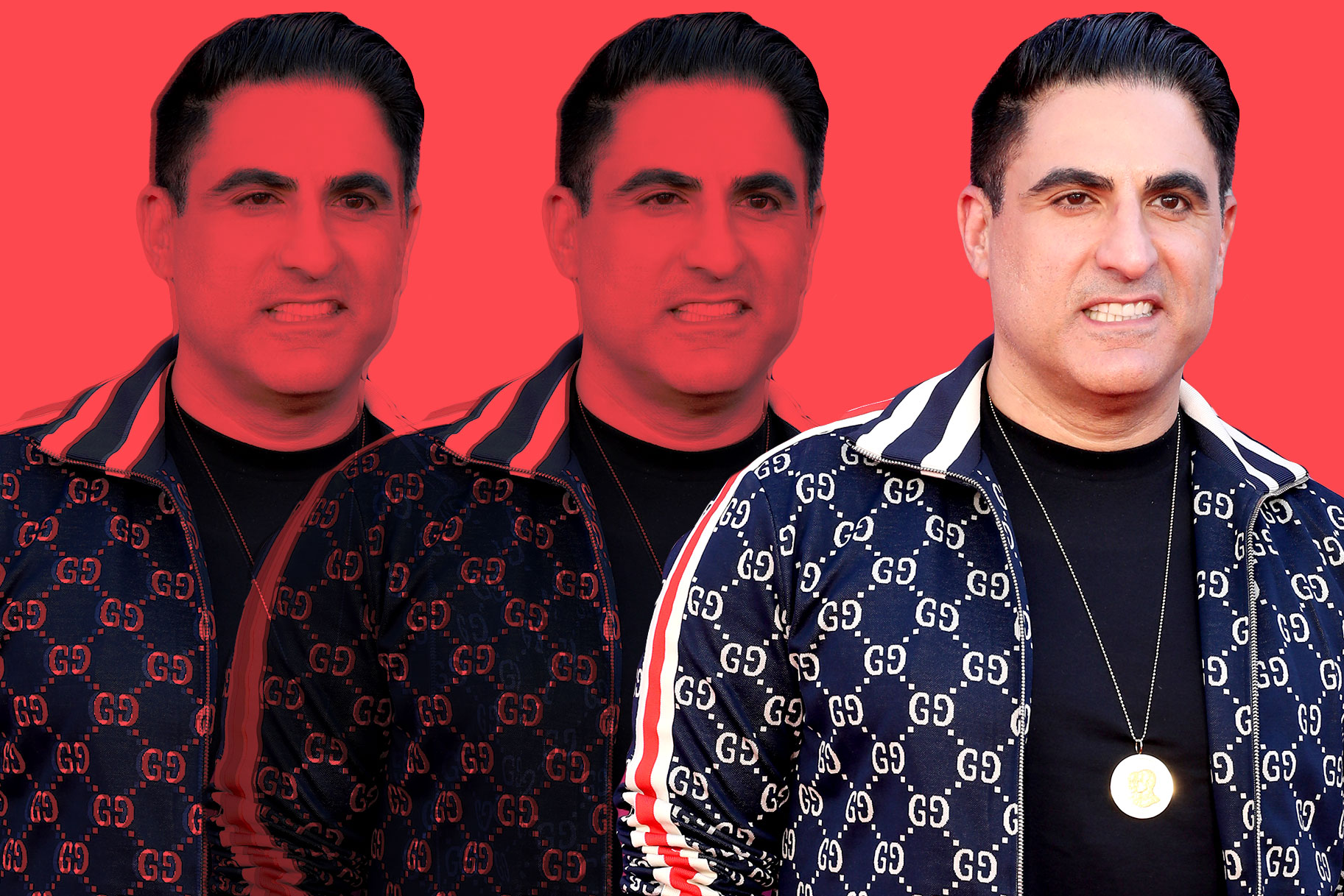 Reza Farahan Weight Loss Outfit