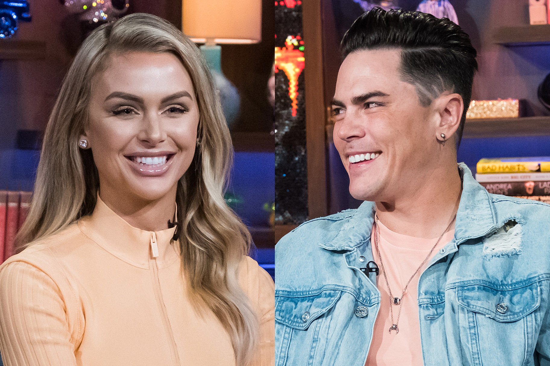 Tom Sandoval and Lala Kent