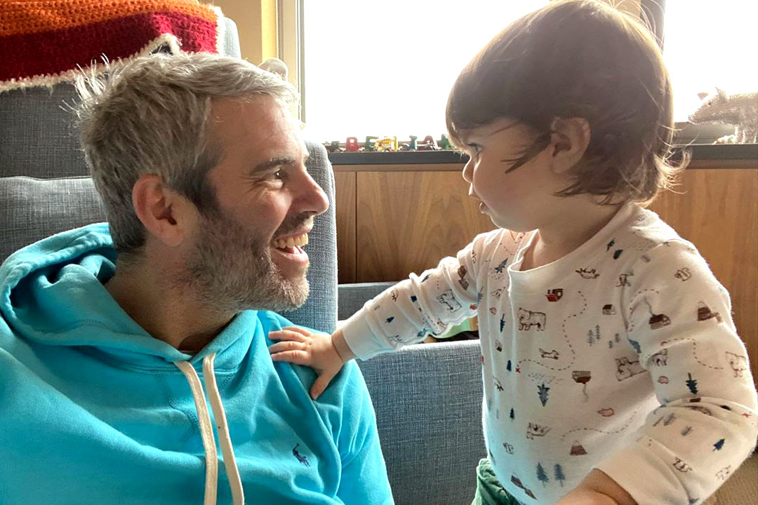 "Andy Cohen Has a ""Delightful Reunion"" with Son Ben After Coronavirus Quarantine"