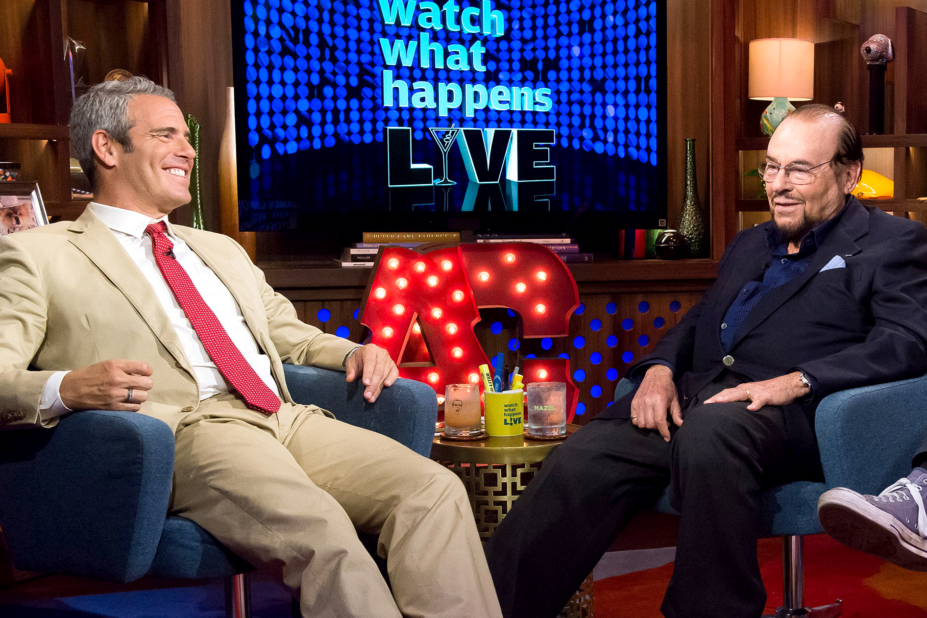 Andy Cohen James Lipton Dies