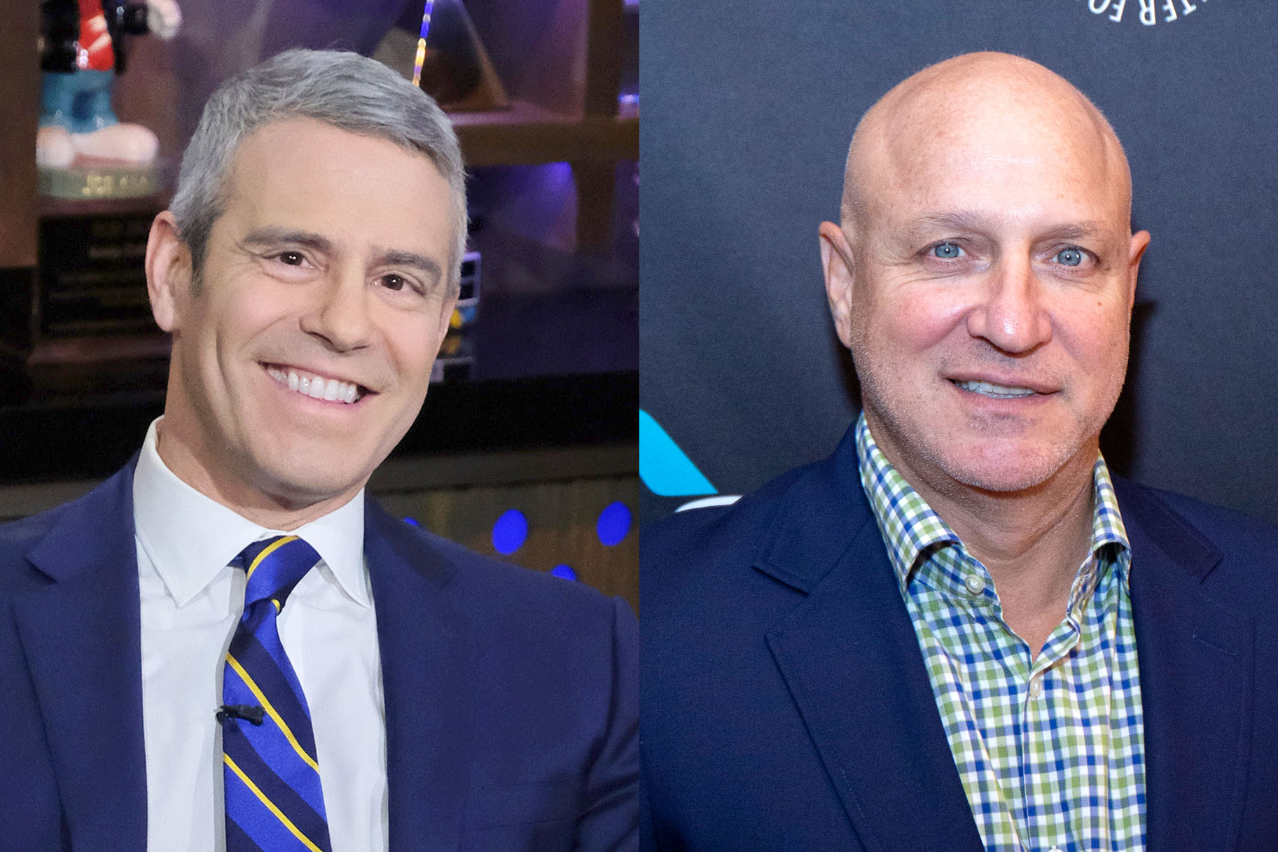 Andy Cohen Tom Colicchio Throwback