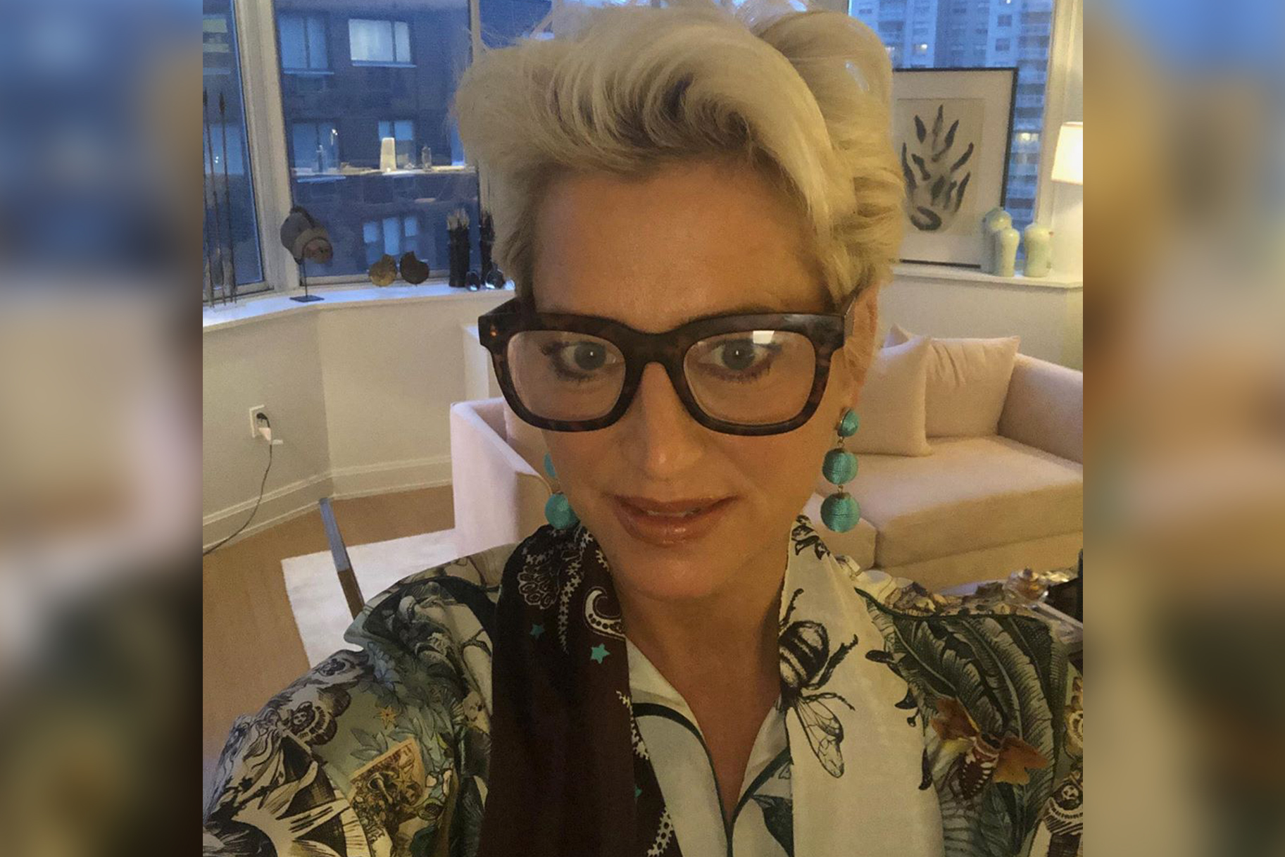 Dorinda Medley Lantejoulas Closet