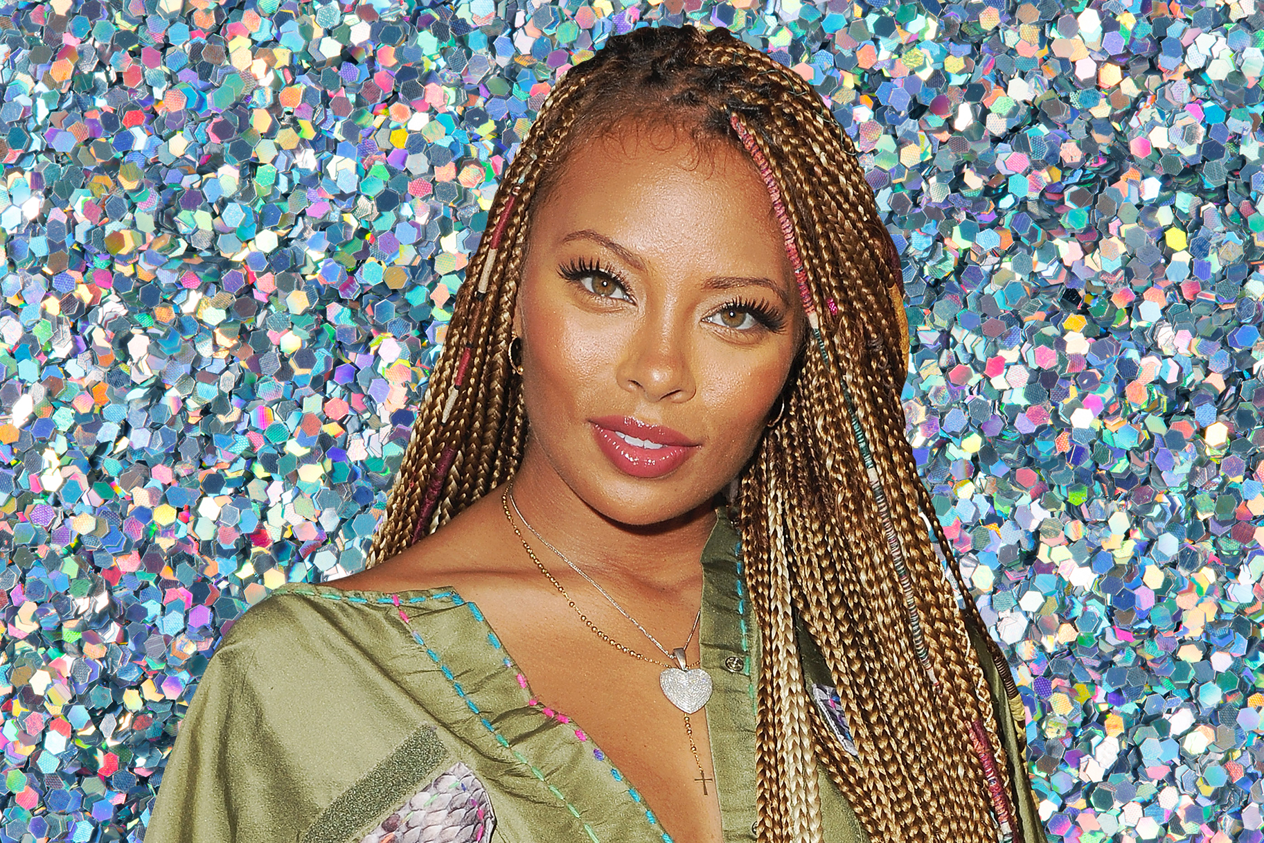 Eva Marcille Bounce House