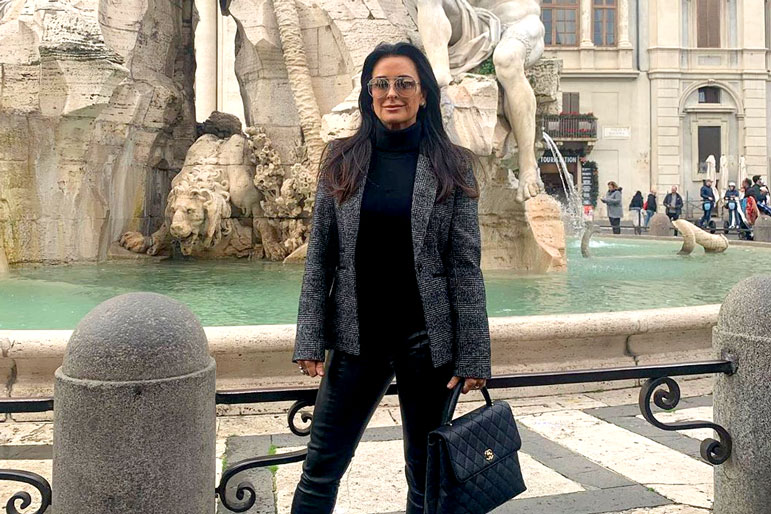 Kyle Richards Italy Trip Rhobh