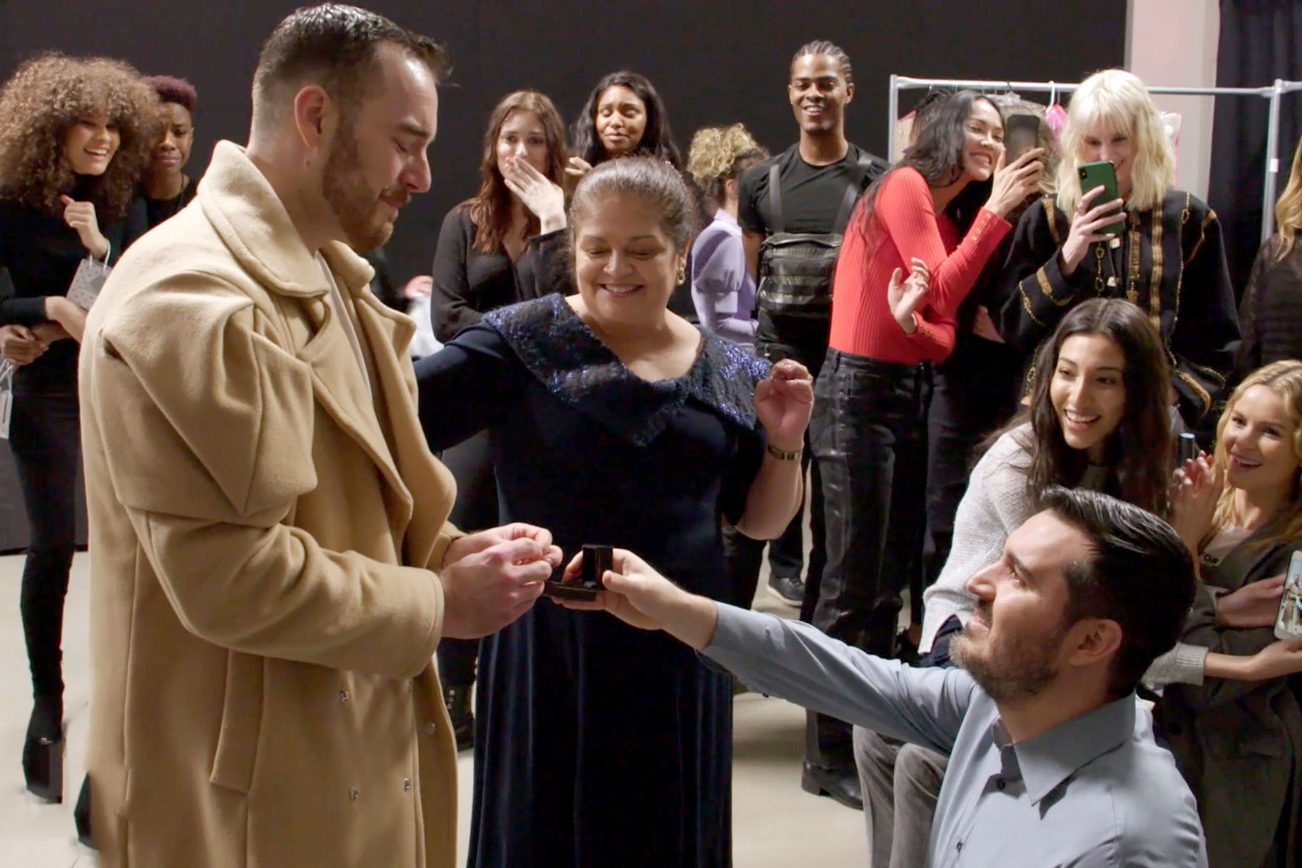 Sergio Guadarrama Engaged Project Runway