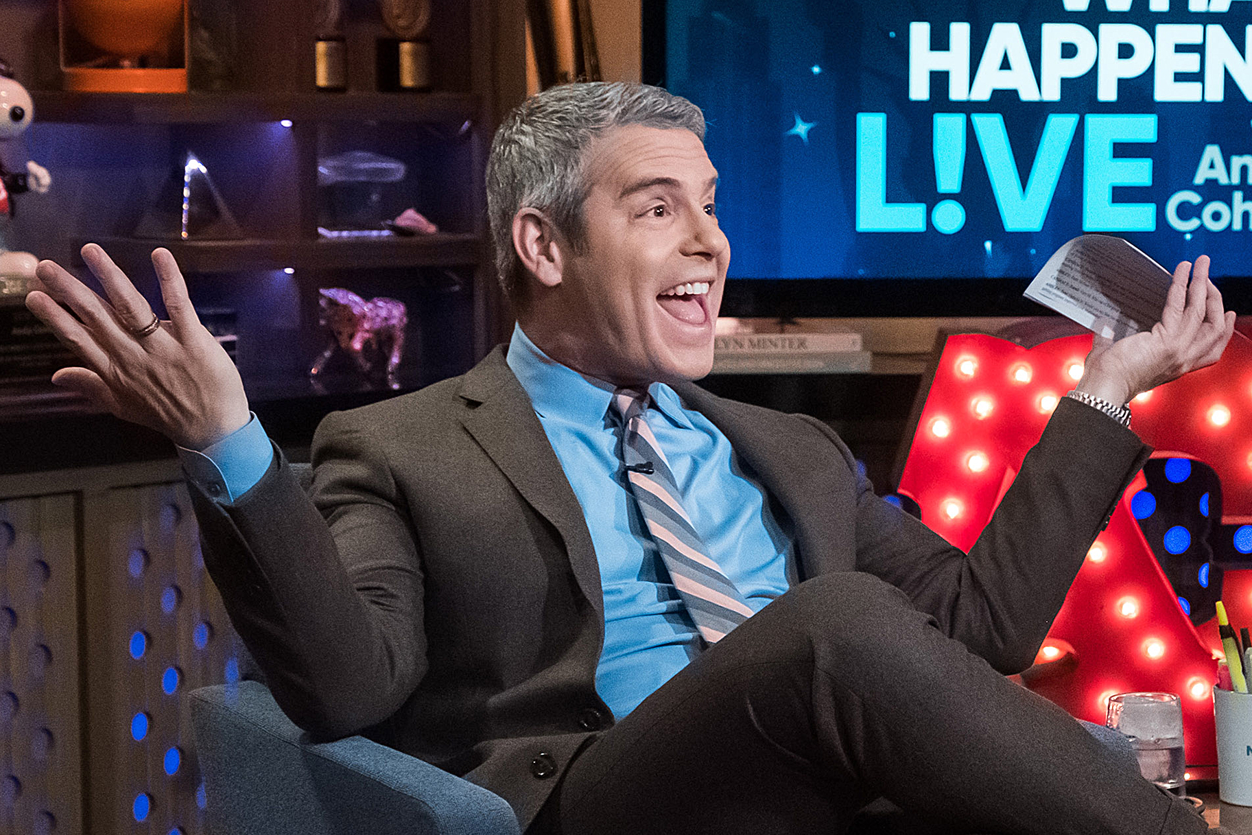 Andy Cohen Self Tanner