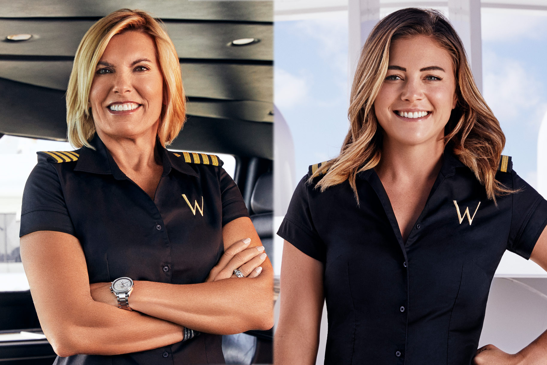 Captain Sandy Malia White Careers