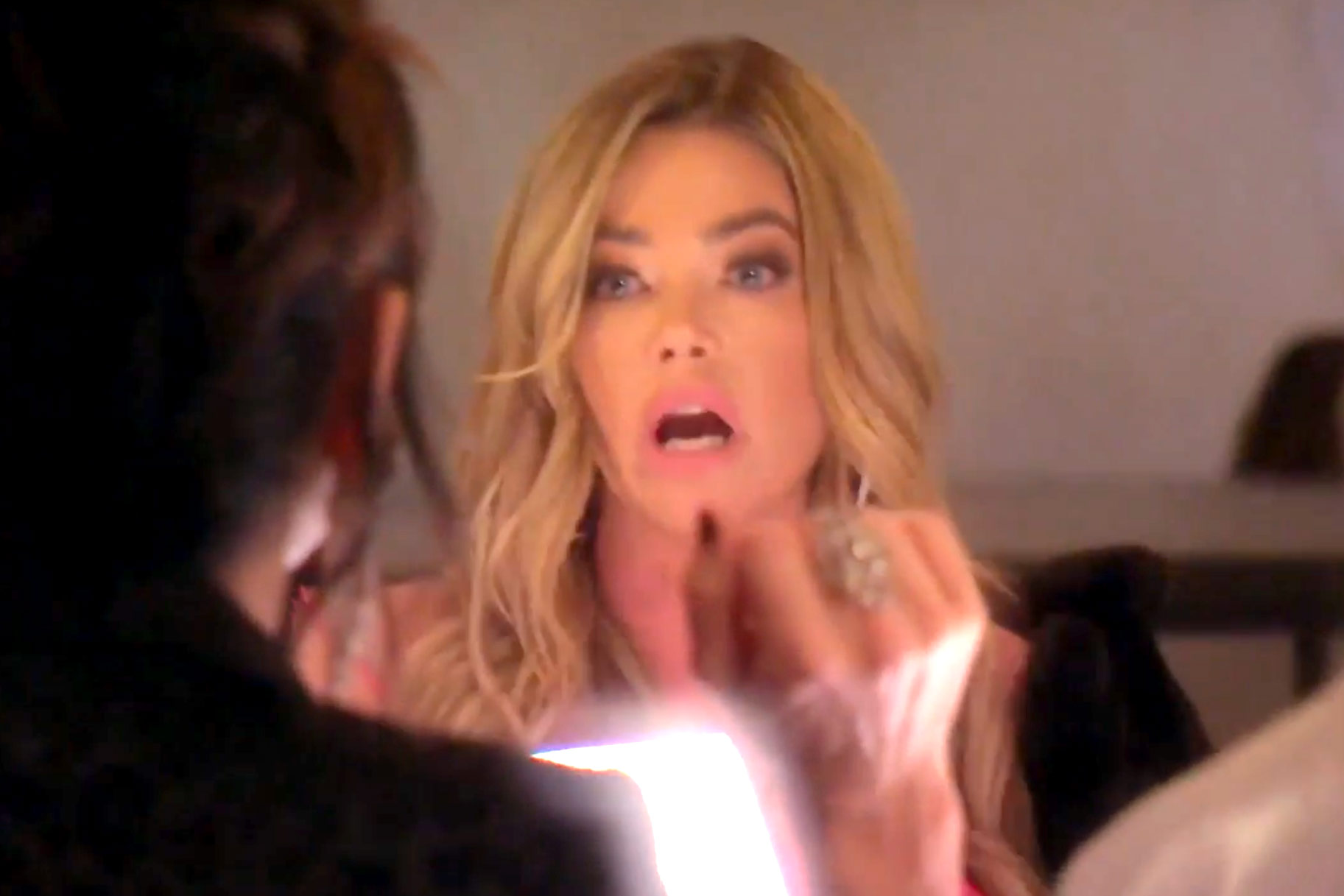 Denise Richards Angry Filming Rhobh