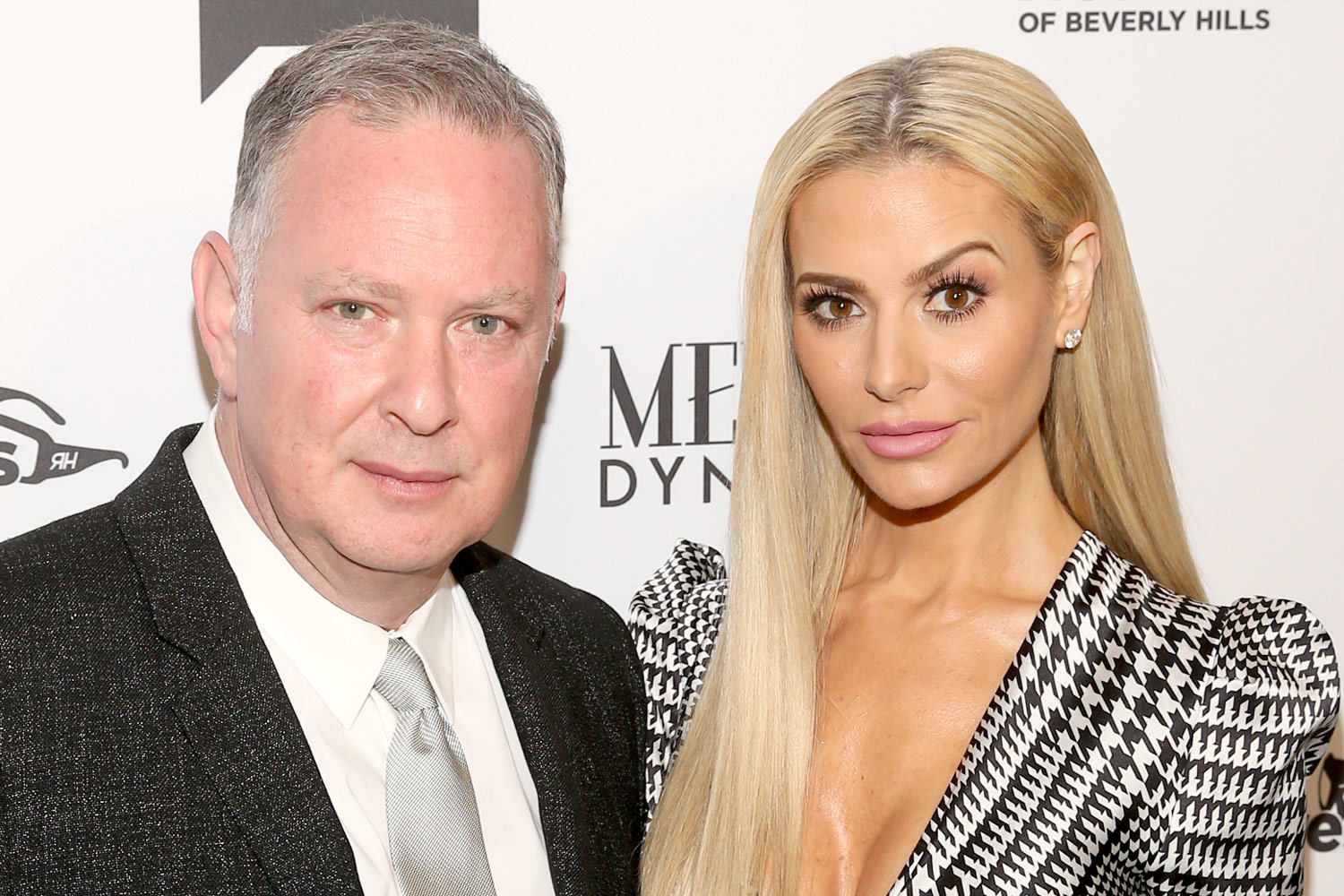 Dorit Kemsley con inteligente, Marido Paul Kemsley