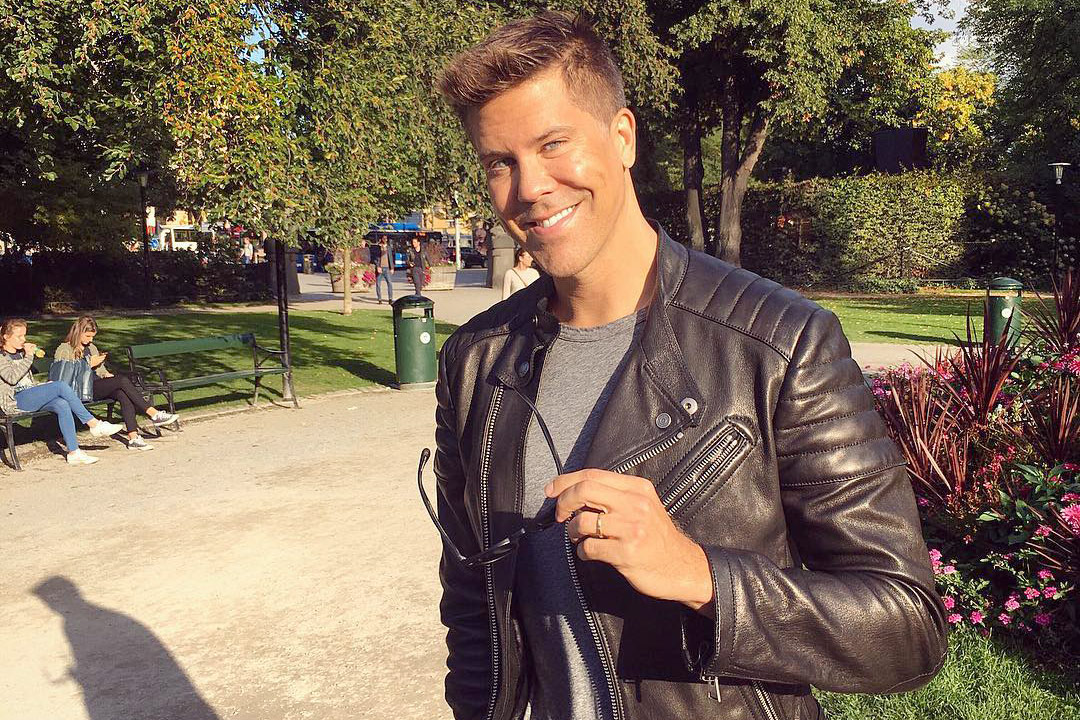 Fredrik Eklund New Puppy Birthday