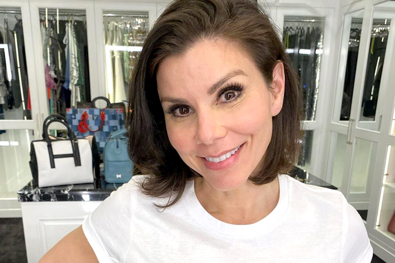 Heather Dubrow Family Pet Dogs
