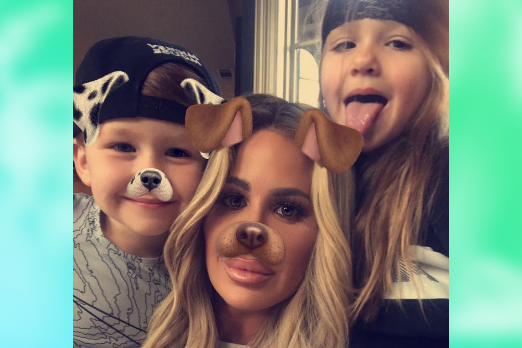 Kim Zolciak Biermann Kids Gucci