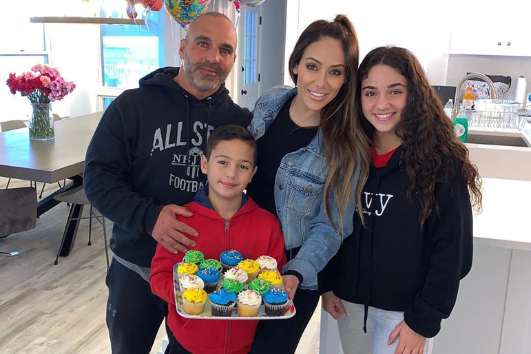 Melissa Joe Gorga Son Birthday Rhonj