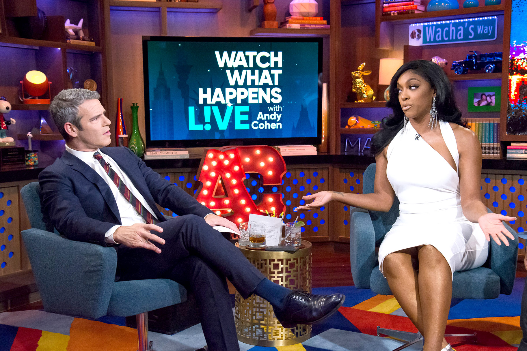 Porsha Williams Andy Cohen Rhoa