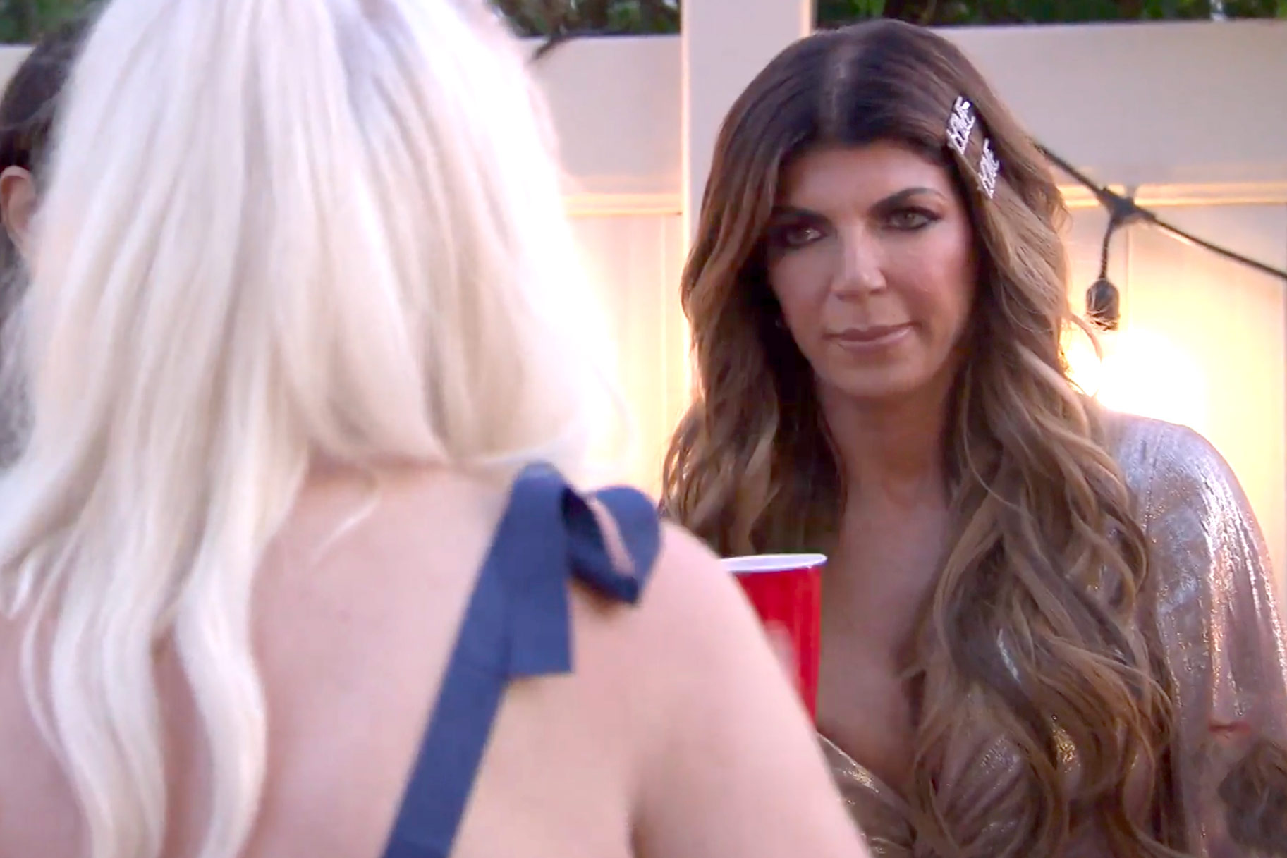 Teresa Giudice Breaks 4th Wall