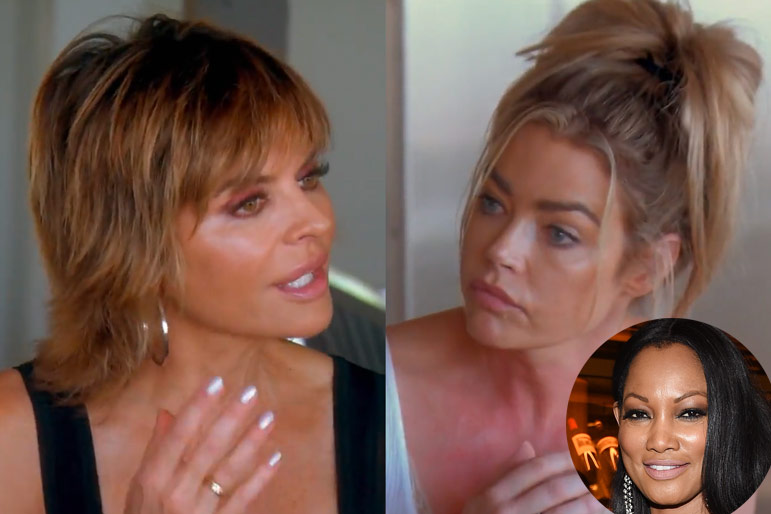 Lisa Rinna Denise Richards Garcelle