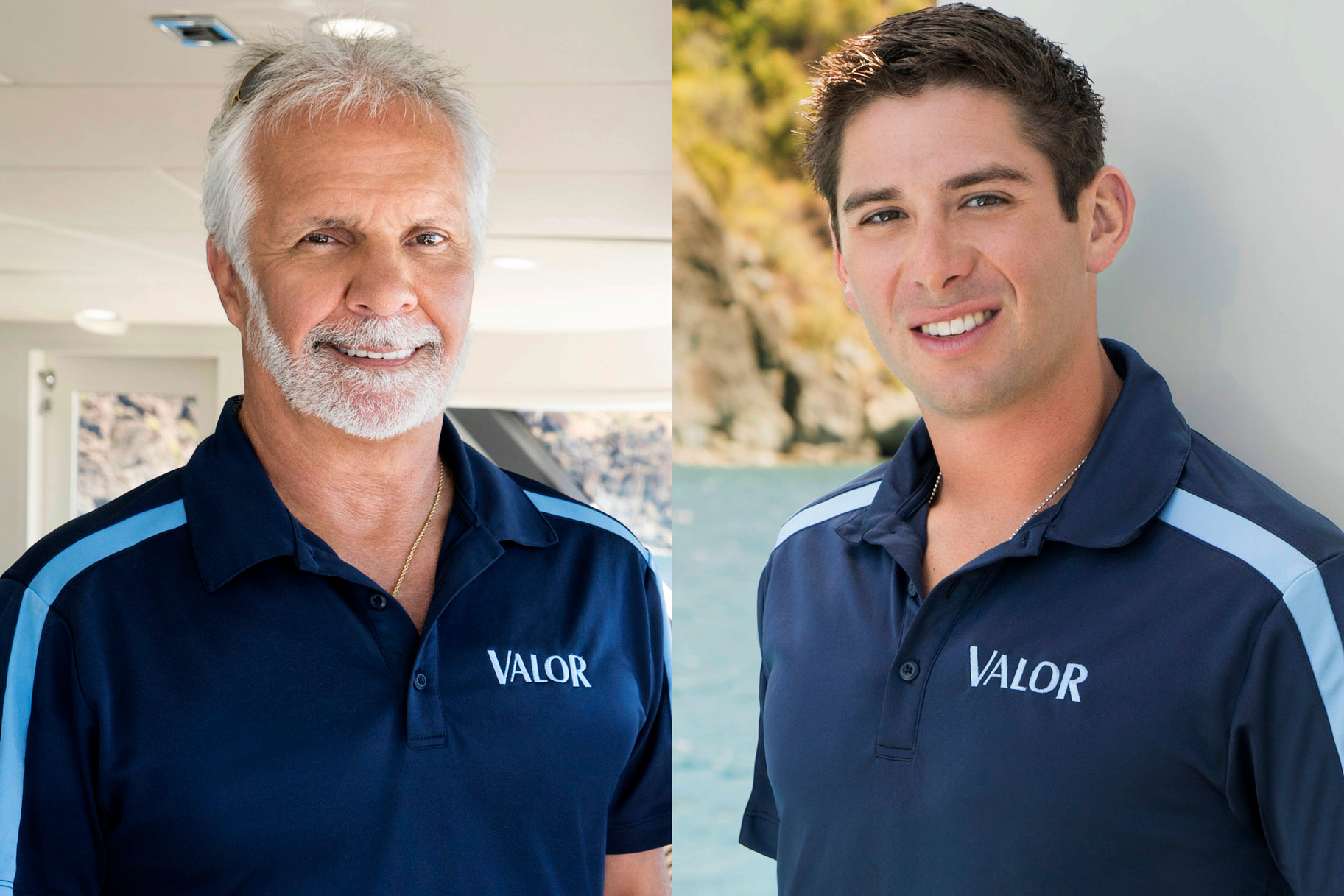 Nico Scholly Captain Lee Below Deck