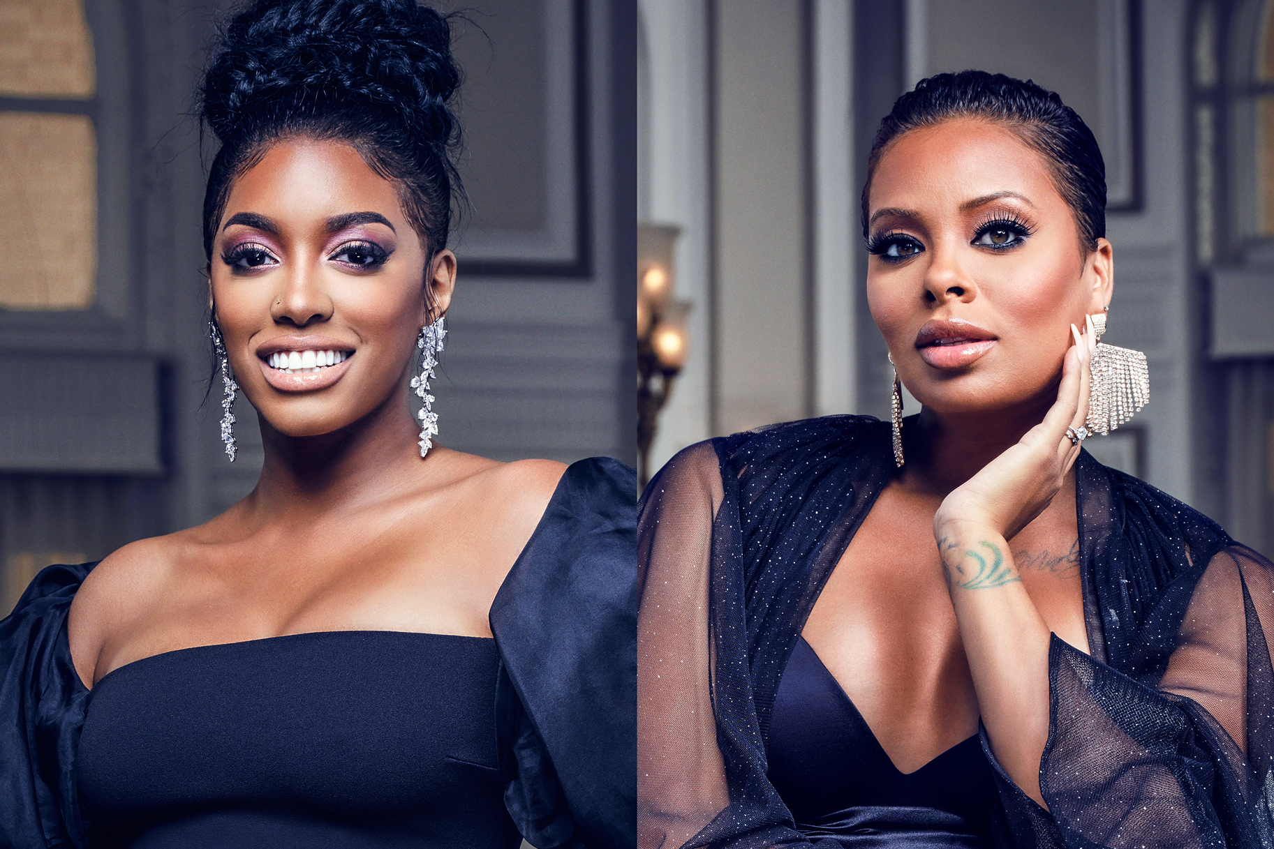 Porsha Williams Eva Marcille RHOA Reunion