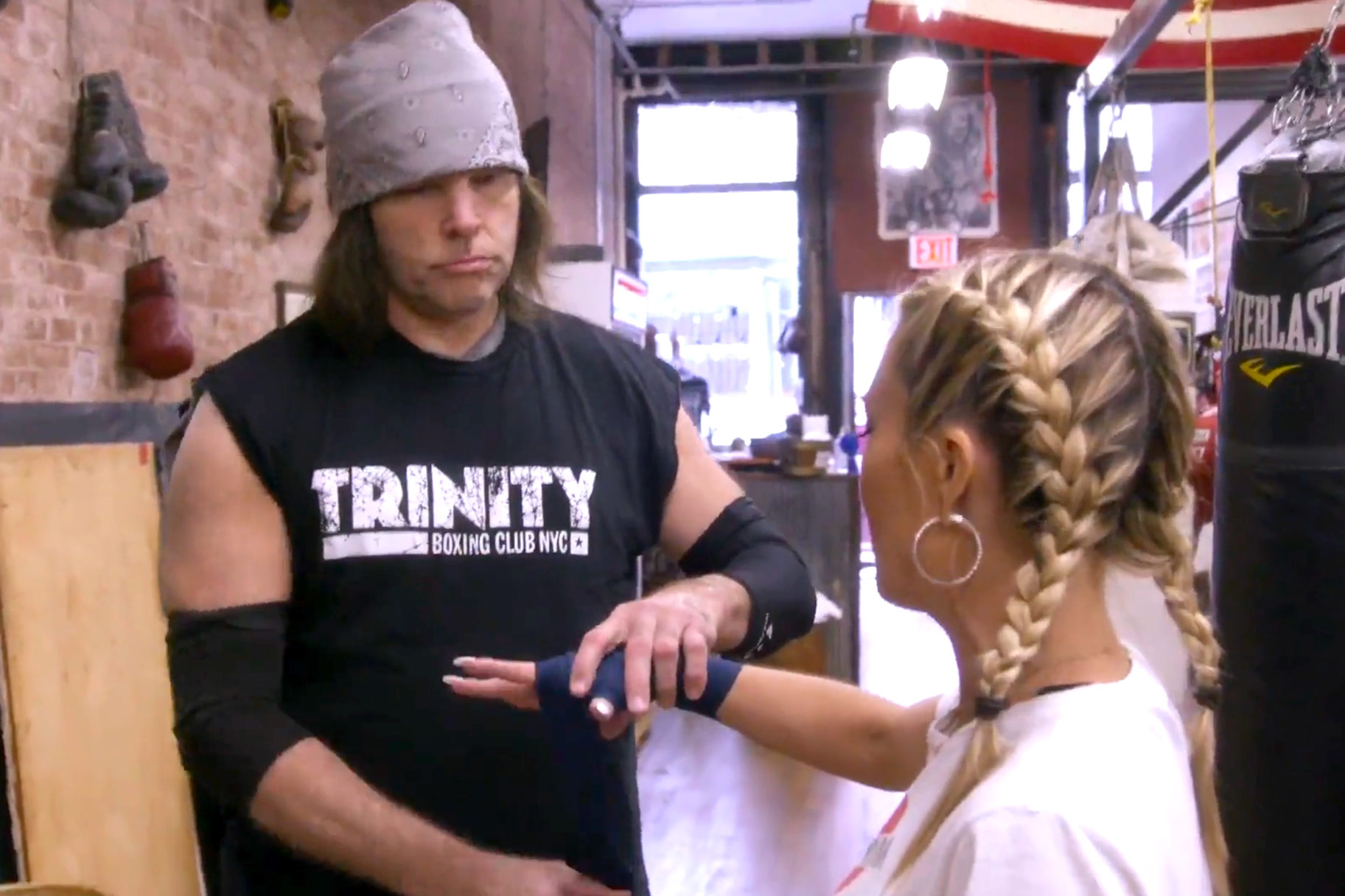 Tinsley Mortimer Boxing Coach Martin