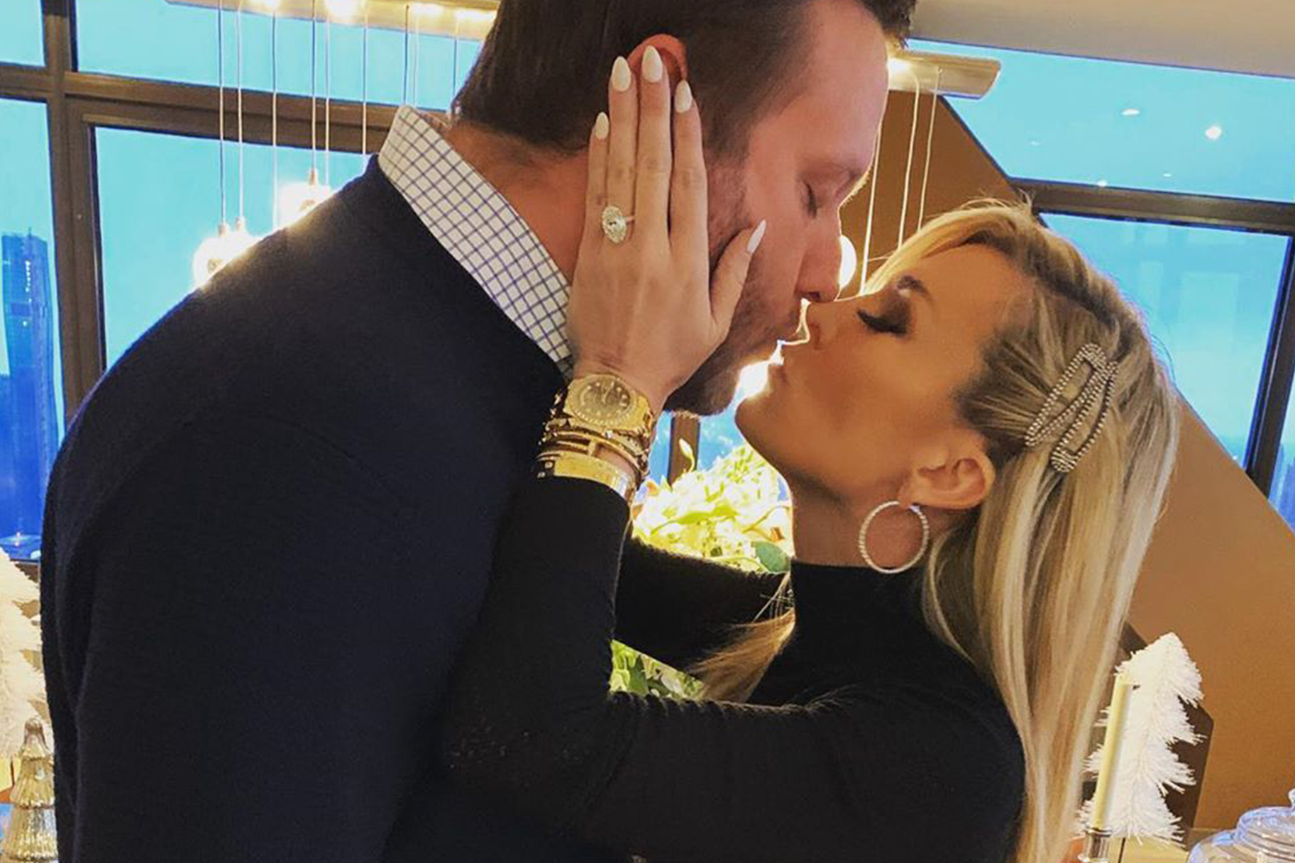 Tinsley Mortimer Engagement Ring