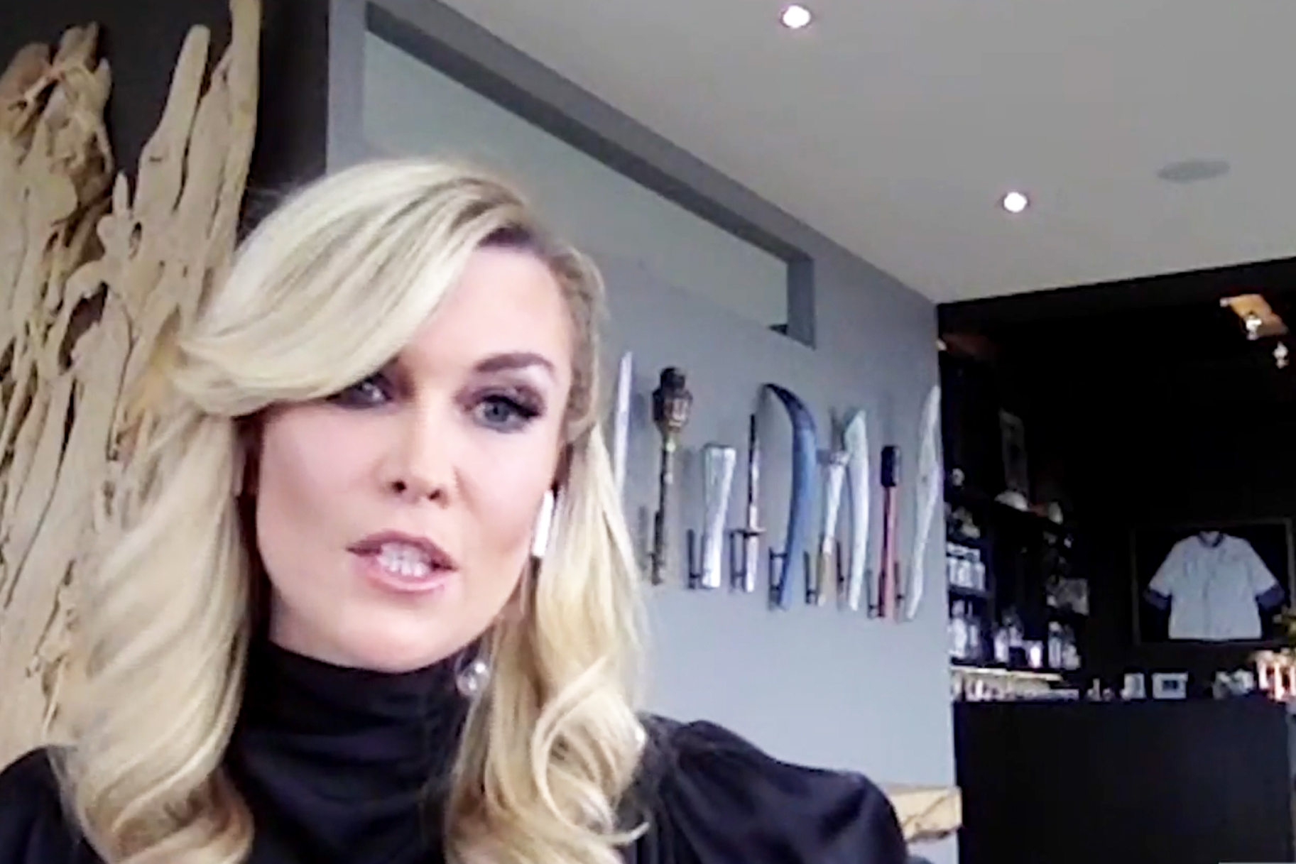 Tinsley Mortimer Olympic Torches