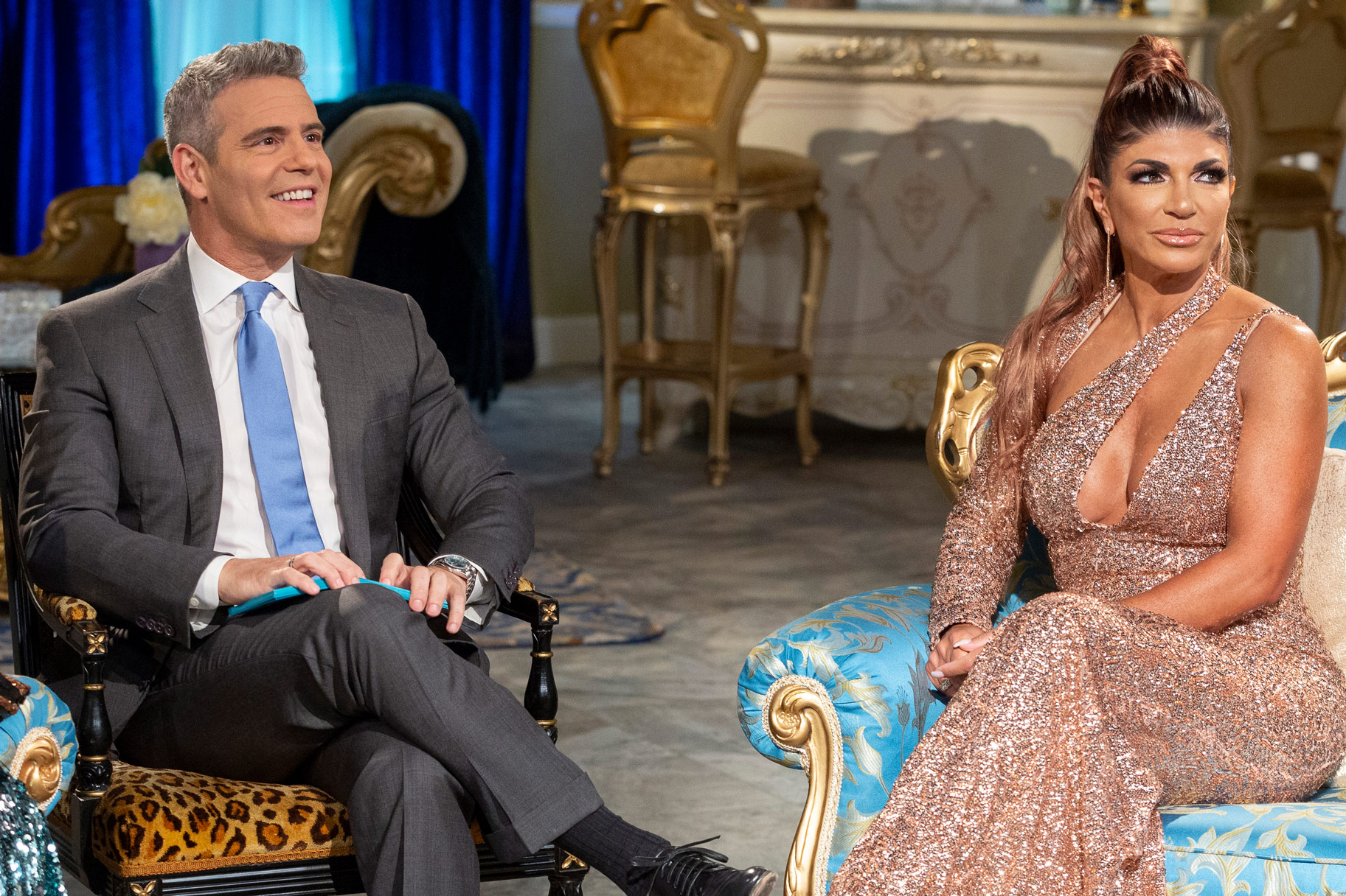 Andy Cohen Teresa Giudice Friendship