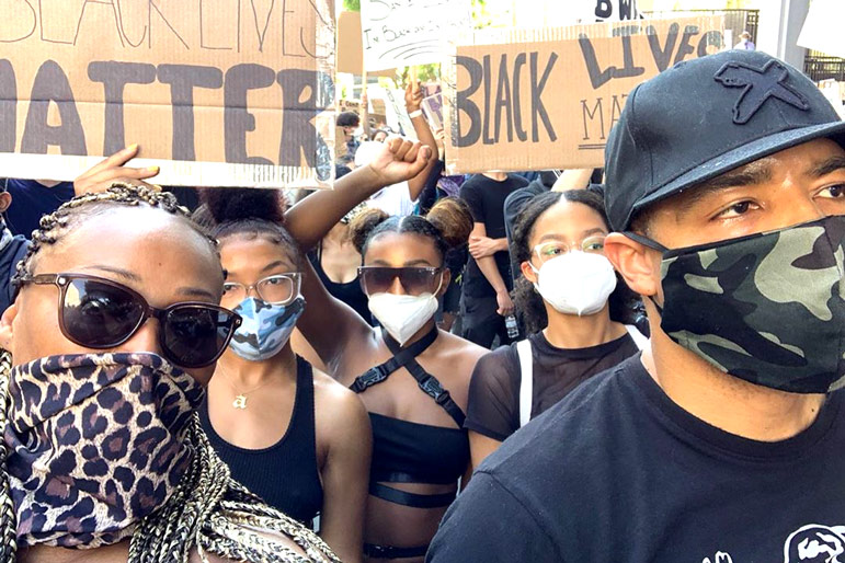 Cynthia Bailey Mike Hill Protest