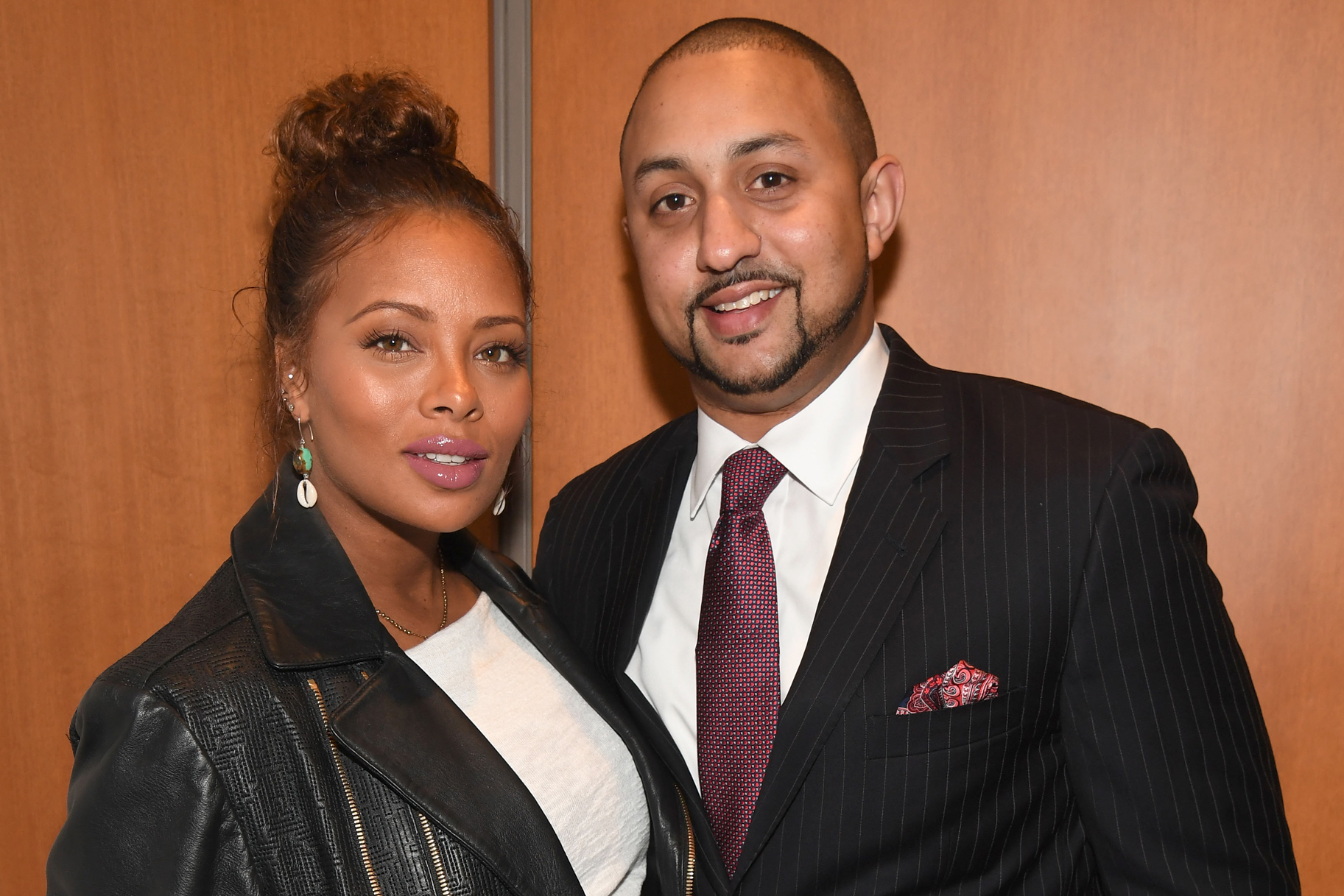 """Eva Marcille's Husband Joining Peaceful Protesters, Says He'll """"Lend My Voice for Real Legislative Change"""""""