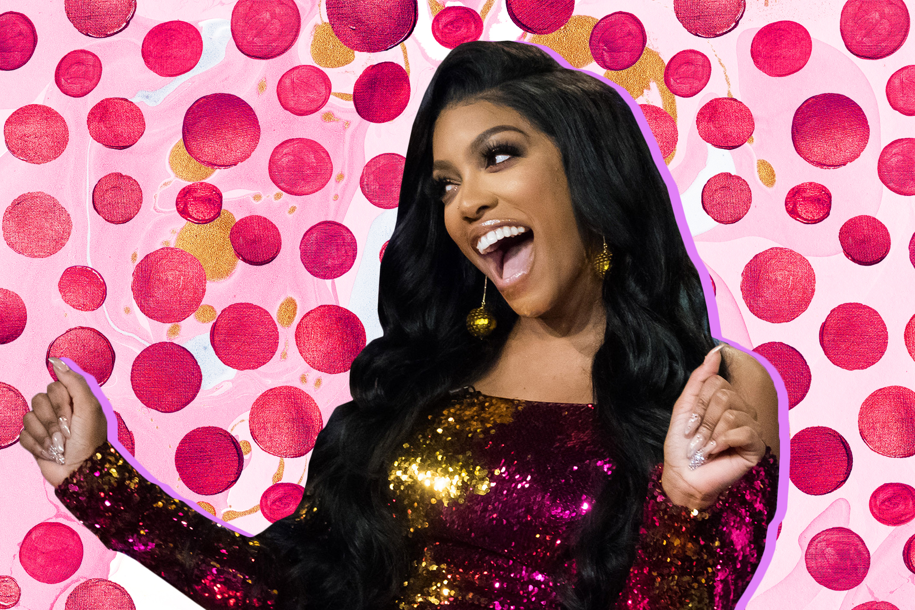 Lookbook Porsha Williams Maternity