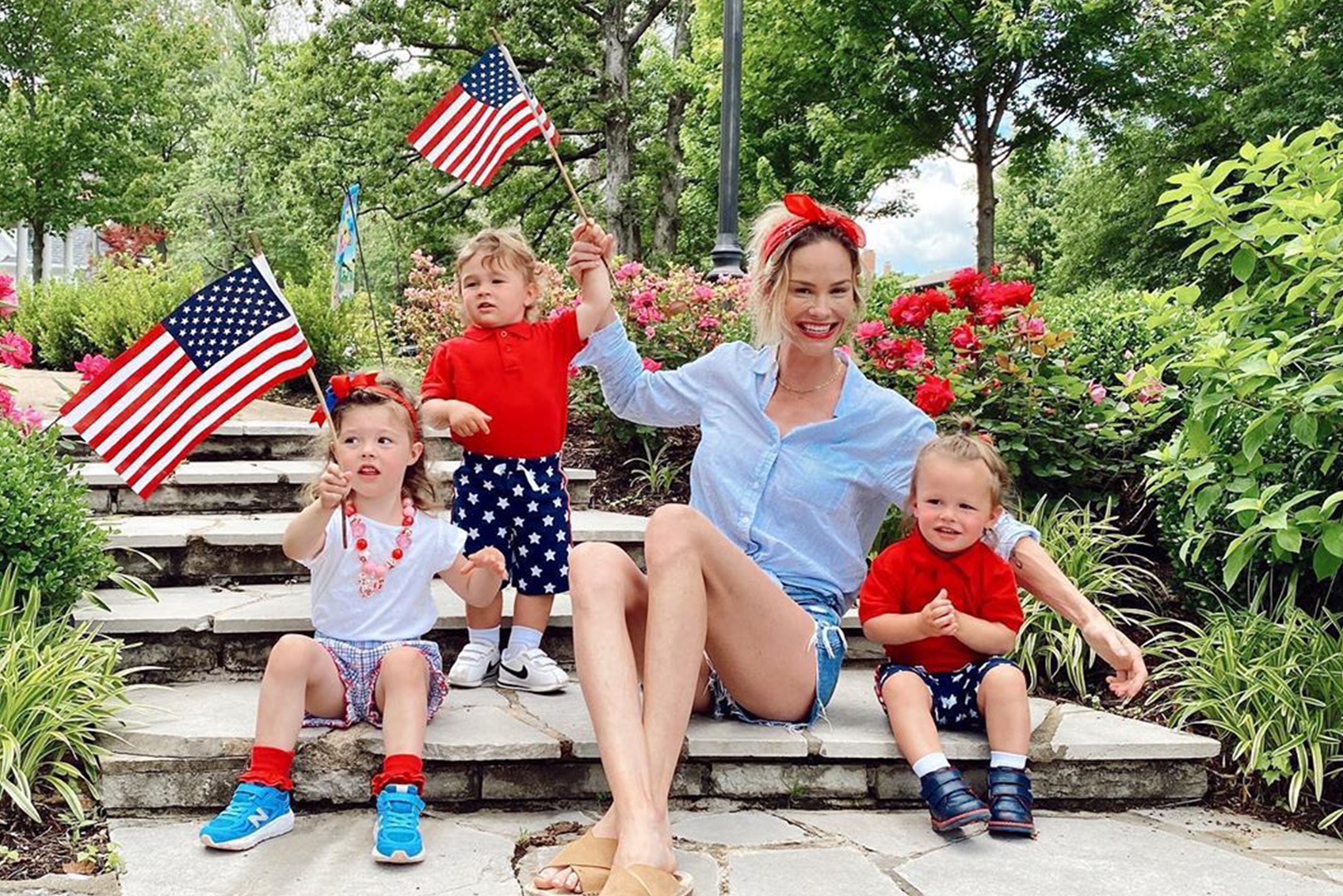 Meghan King Edmonds Twins Birthday
