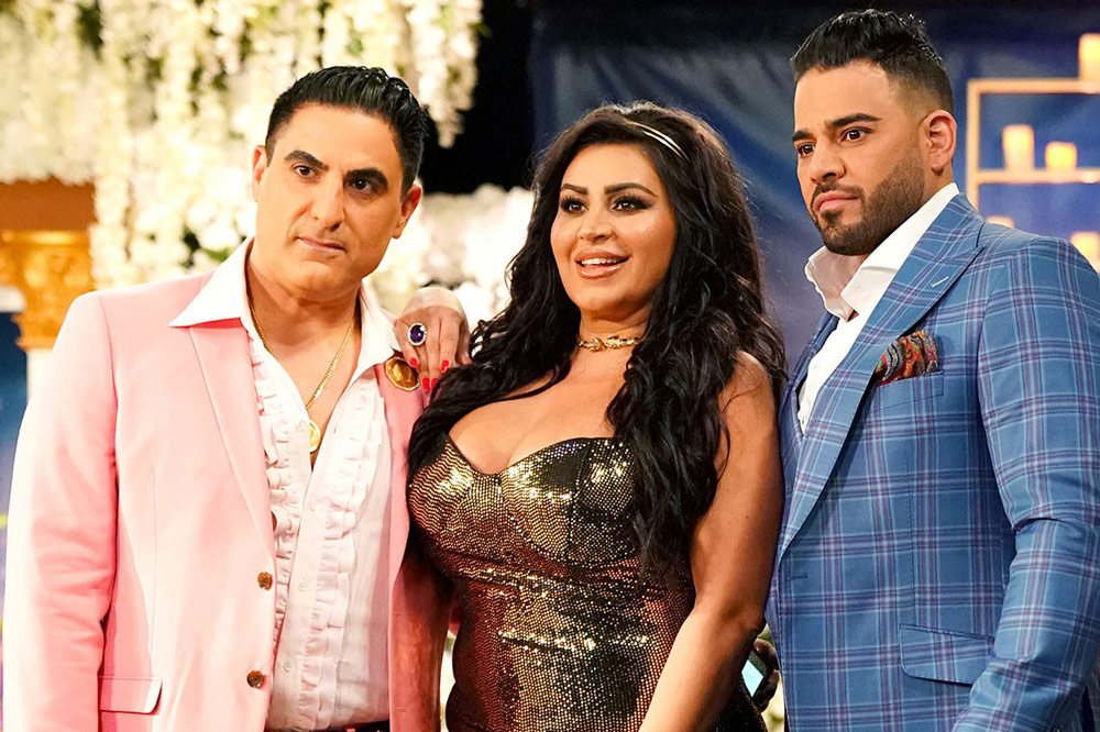 Reza Faraham Mike Shouhed Mercedes Javid