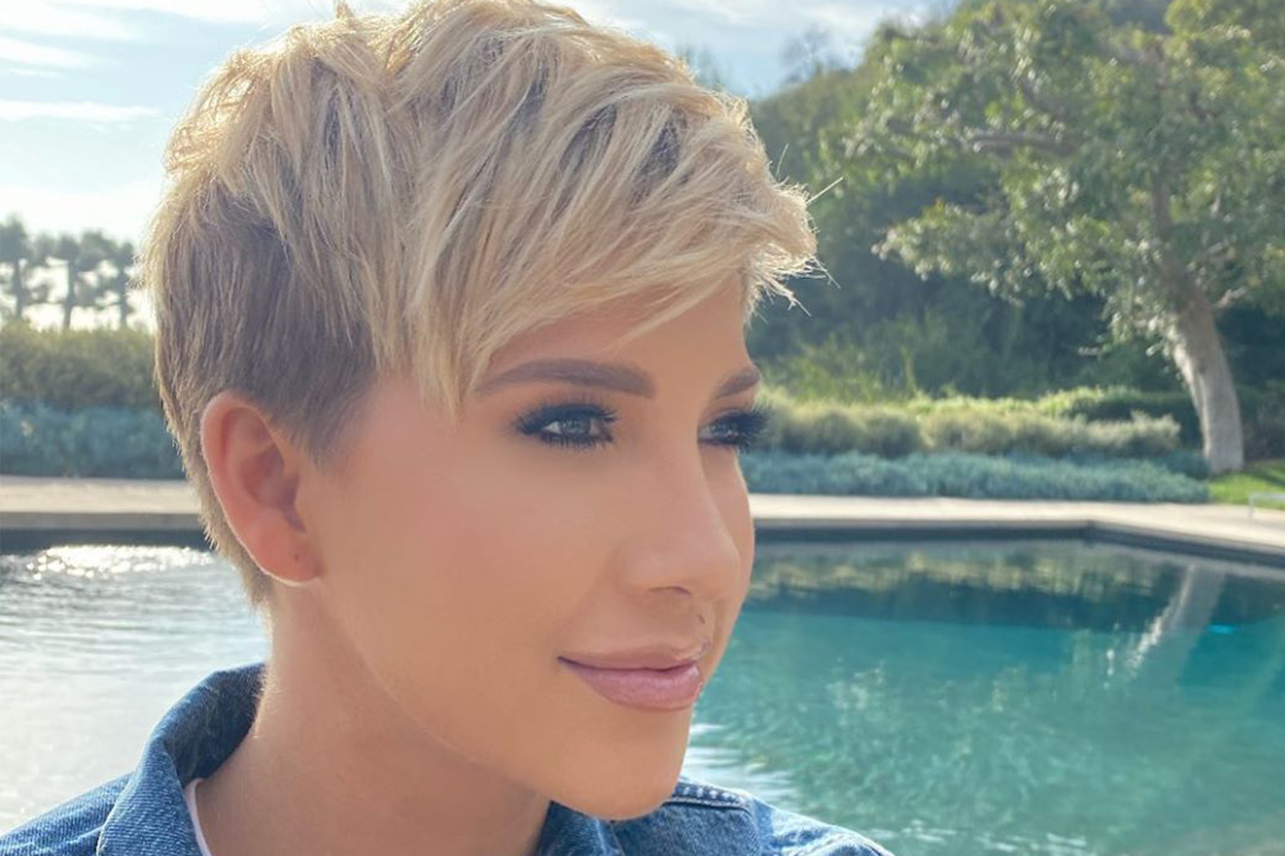Savannah Chrisley New Hair 1