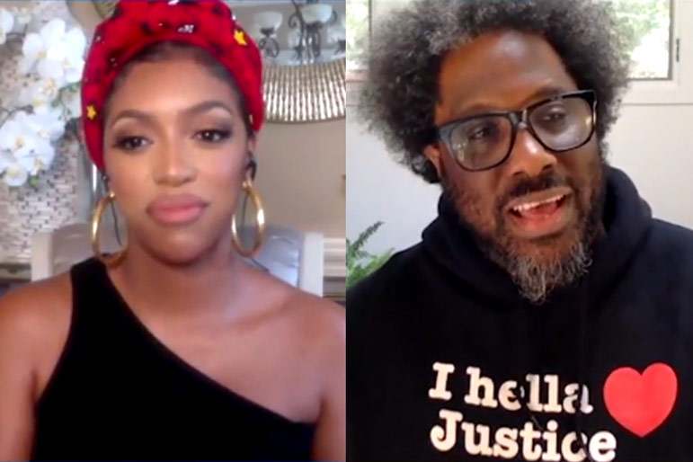 W Kamau Bell Porsha Williams