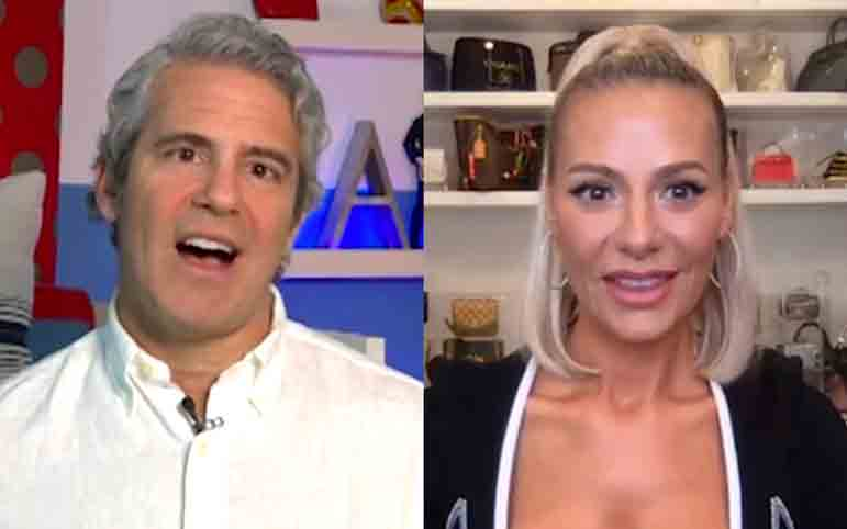Andy Cohen Dorit Kemsley Reunion Talk