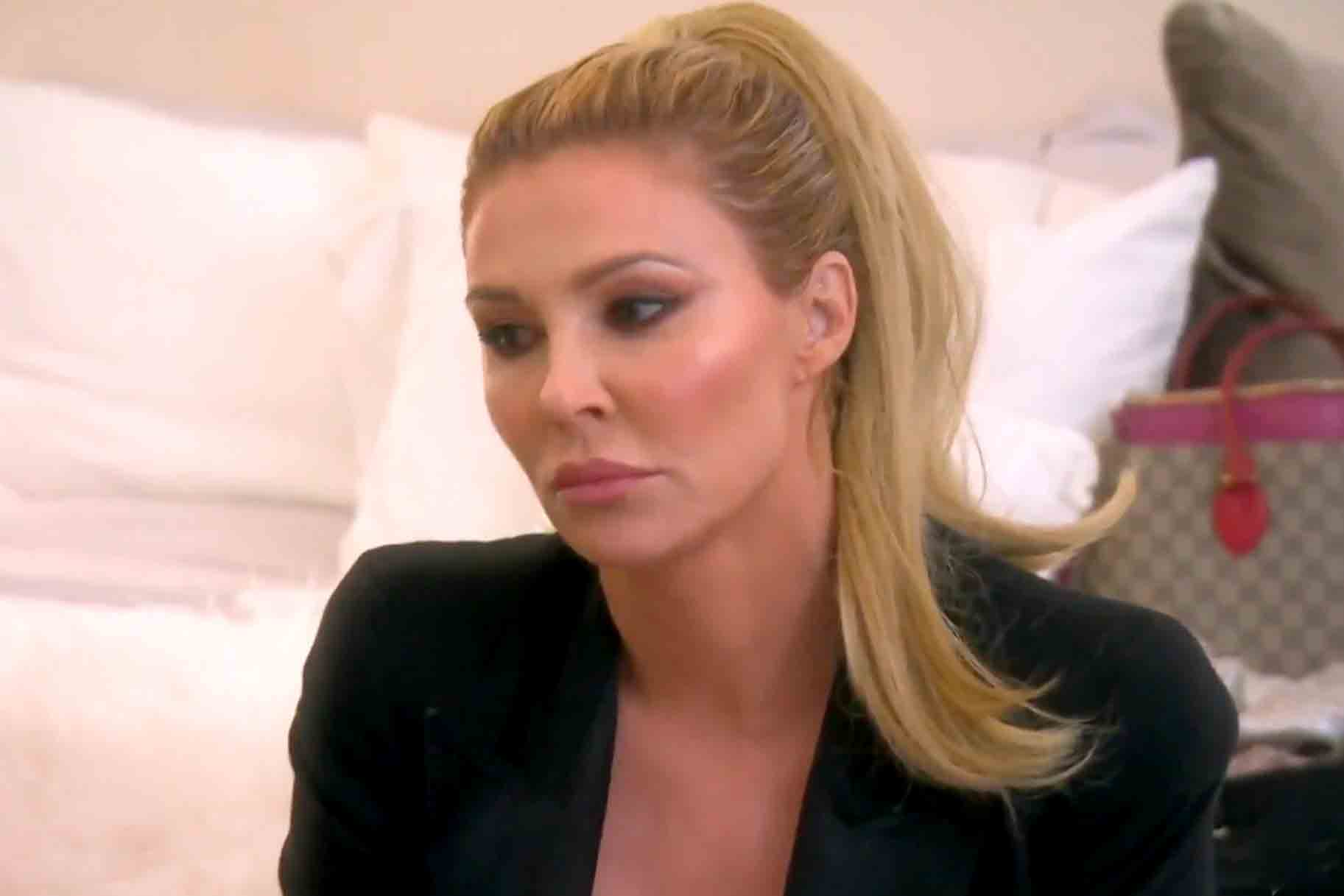 Brandi Glanville Present At Rhobh Reunion