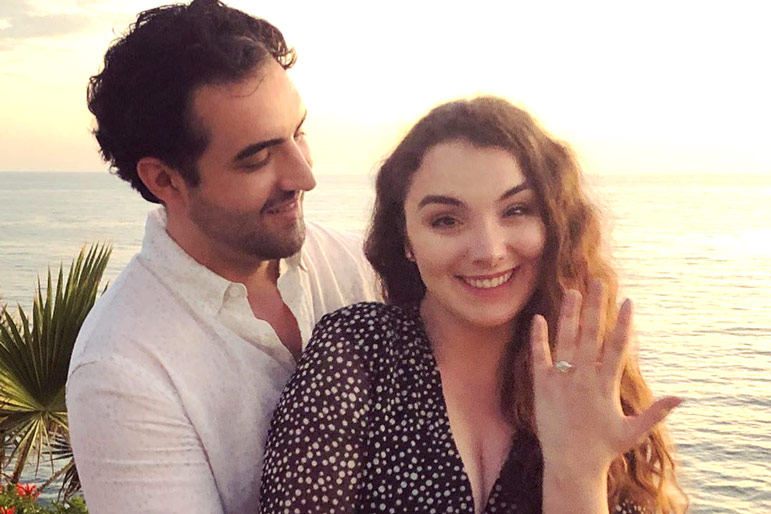 Camille Hughes Proposal Engaged Twice