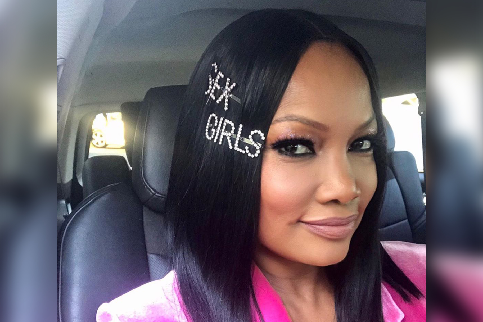 Garcelle Beauvais Denim Look